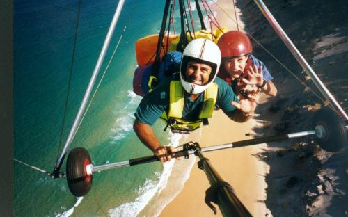 David CookmanSunshine Coast Hang Gliding - ACT Tourism