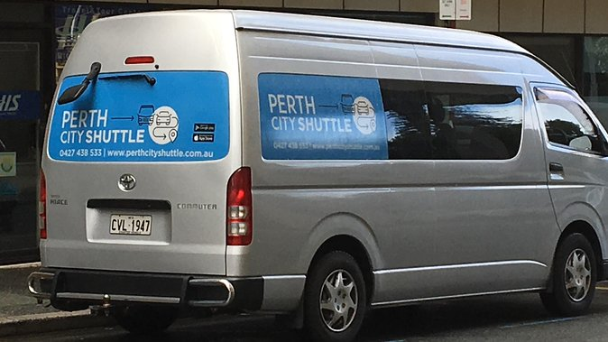 Shared Arrival or Departure Transfers - Airport to Perth City Hotel or viceversa