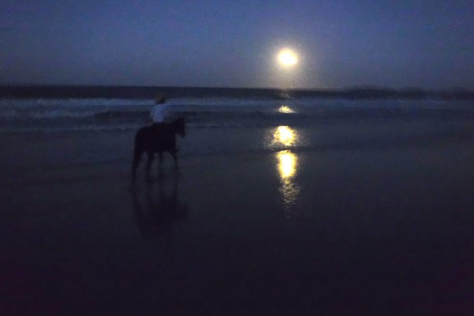 Full Moon Horse Ride at Rainbow Beach - ACT Tourism