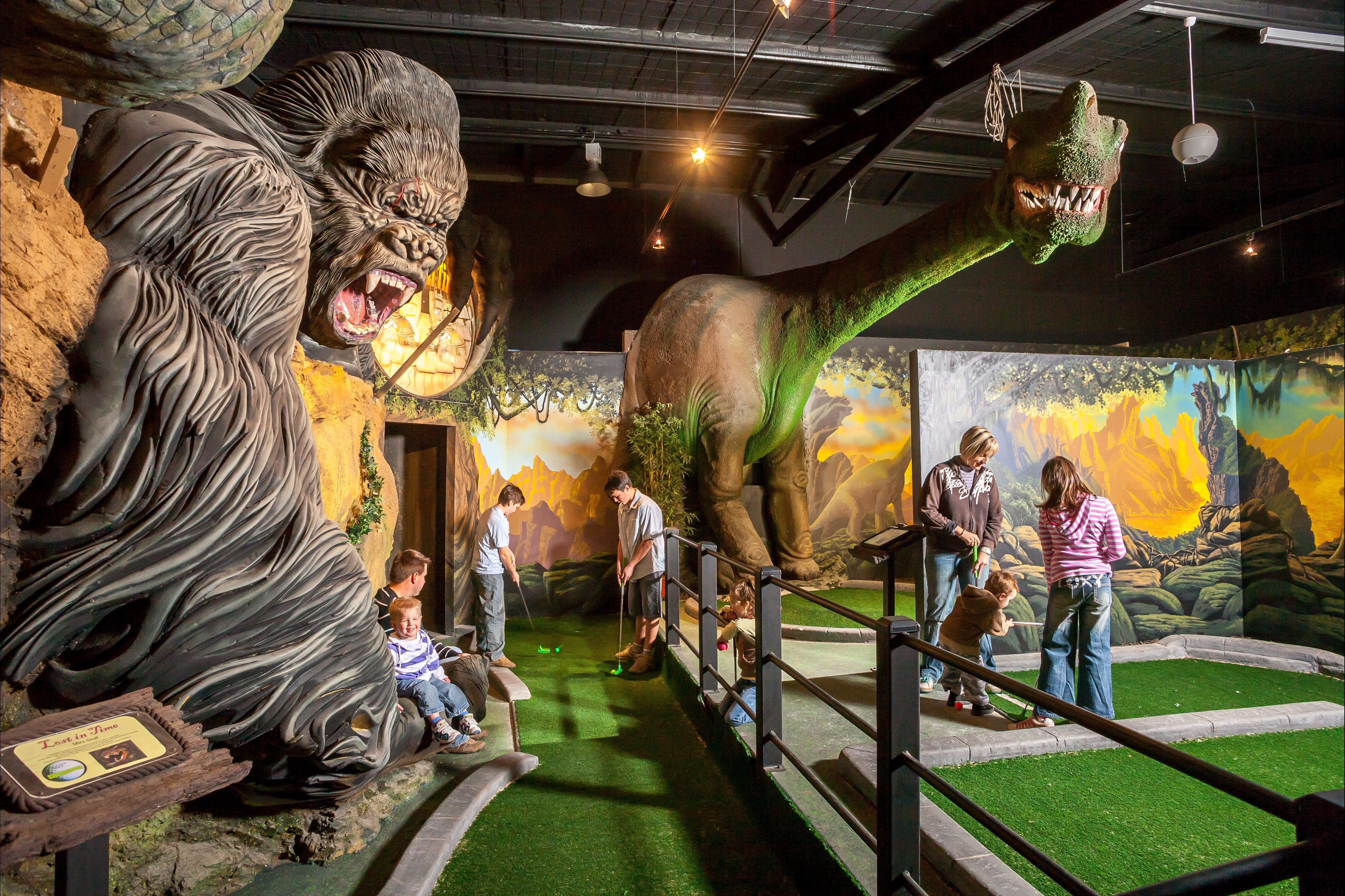 Gold Rush Mini Golf - ACT Tourism