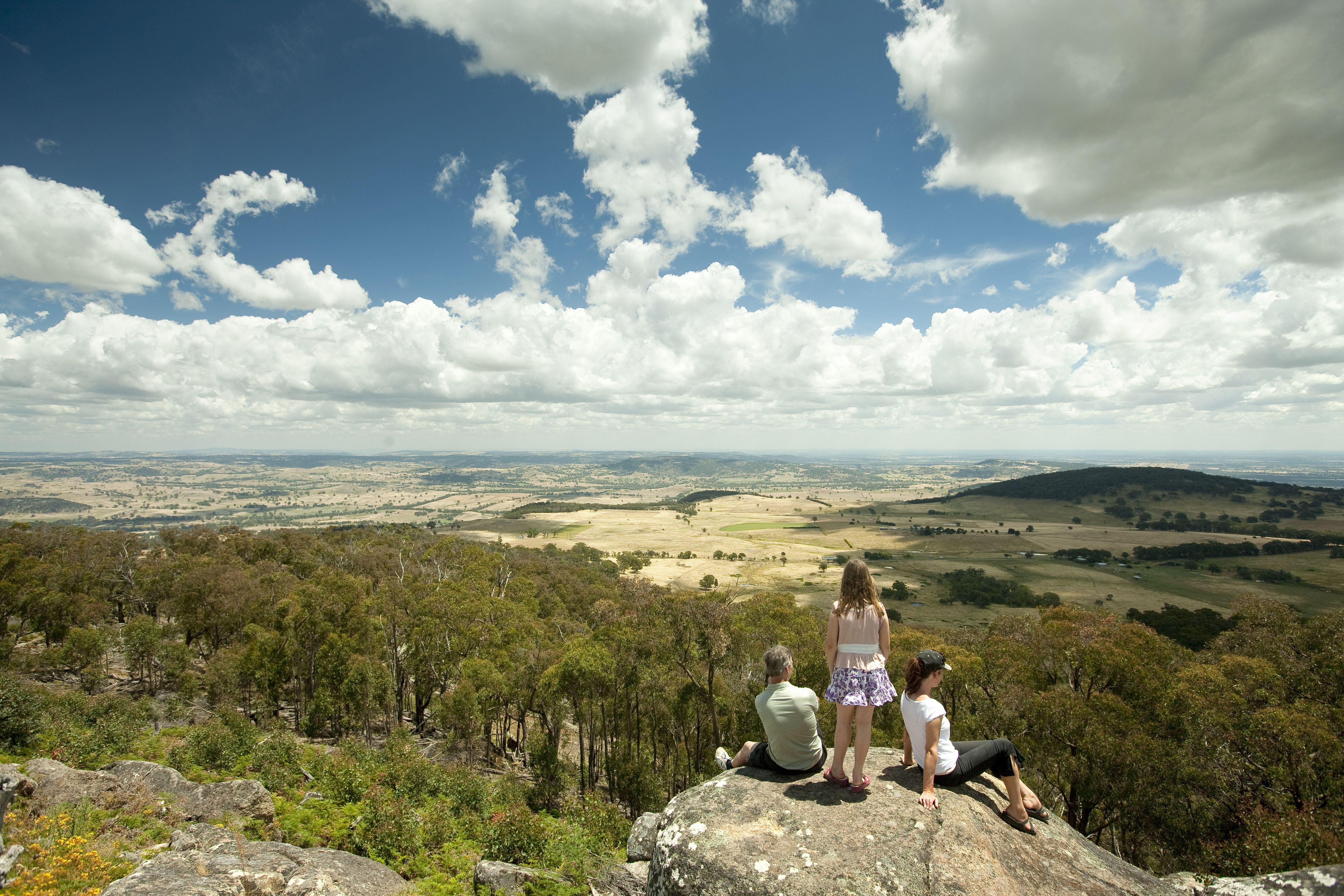 Mt Wombat Lookout - ACT Tourism