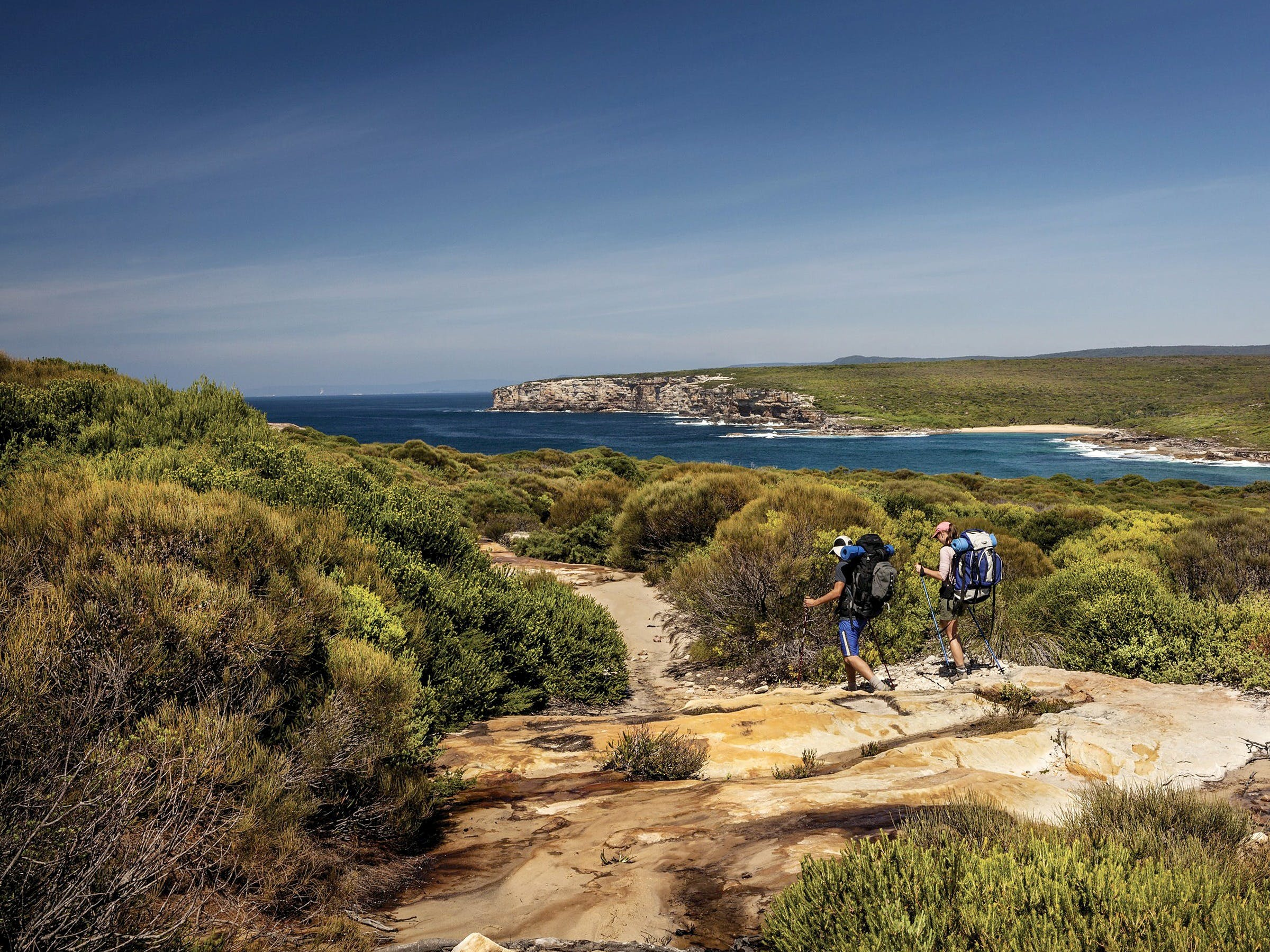 The Coast track - ACT Tourism