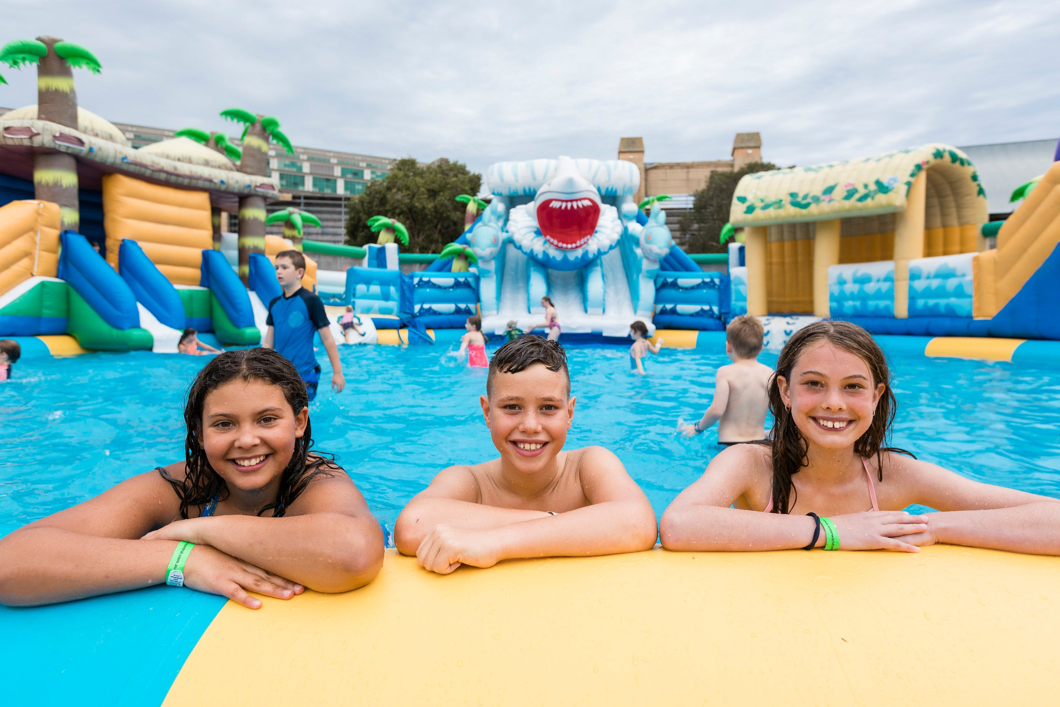 Waterworld Central - Mobile Inflatable Waterpark - ACT Tourism