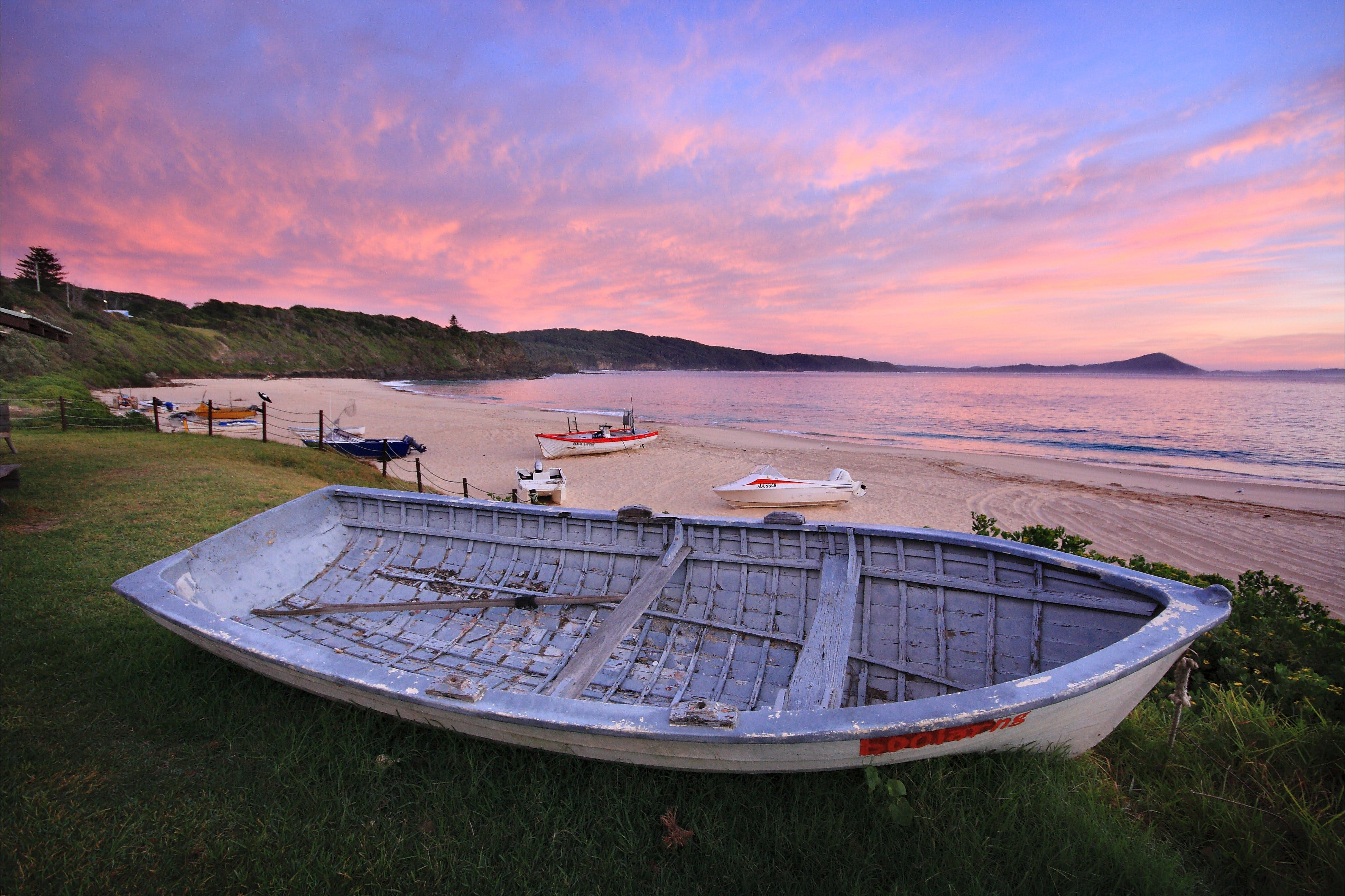 Boat Beach - ACT Tourism