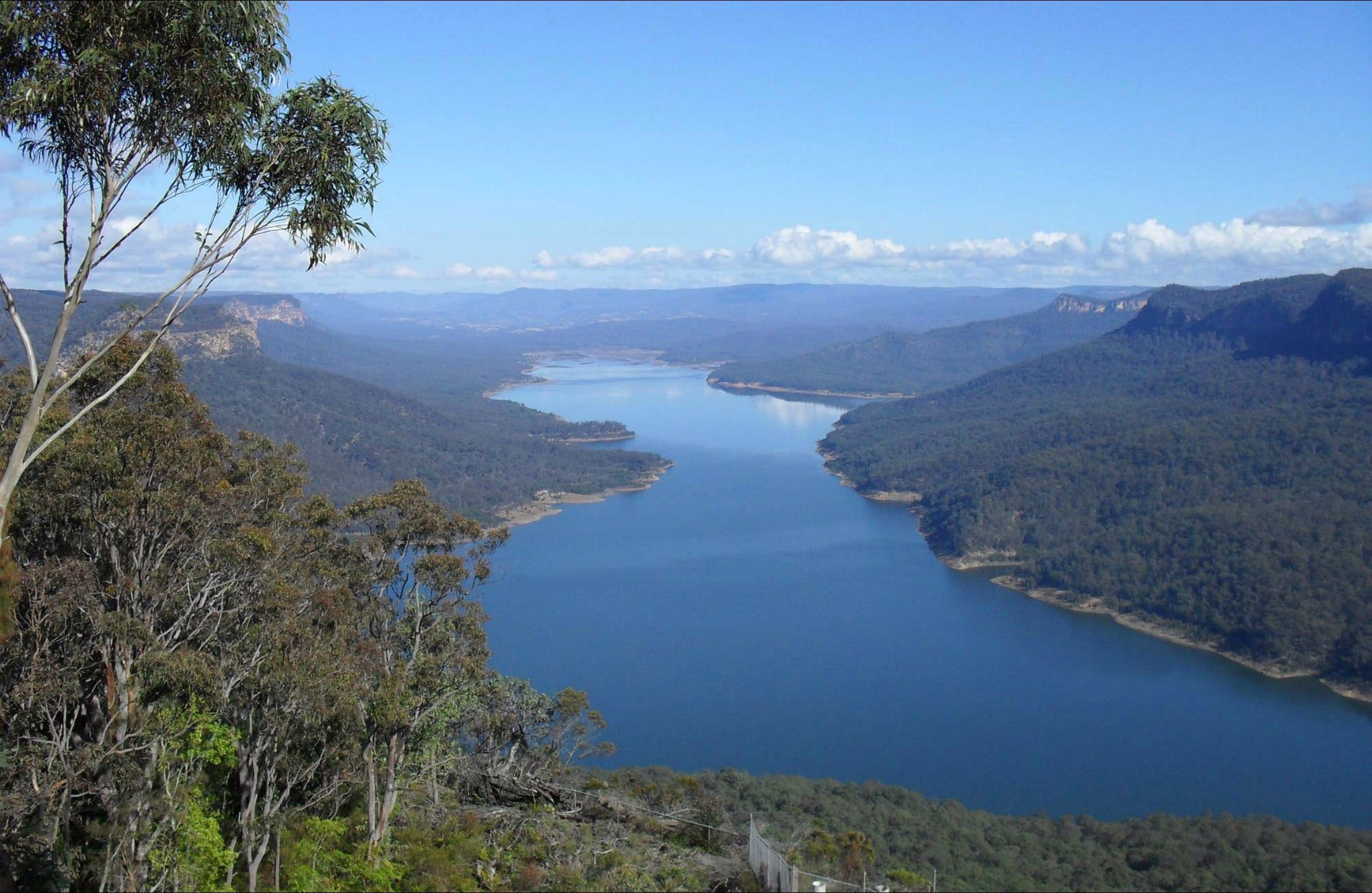 Burragorang lookout and picnic area - ACT Tourism