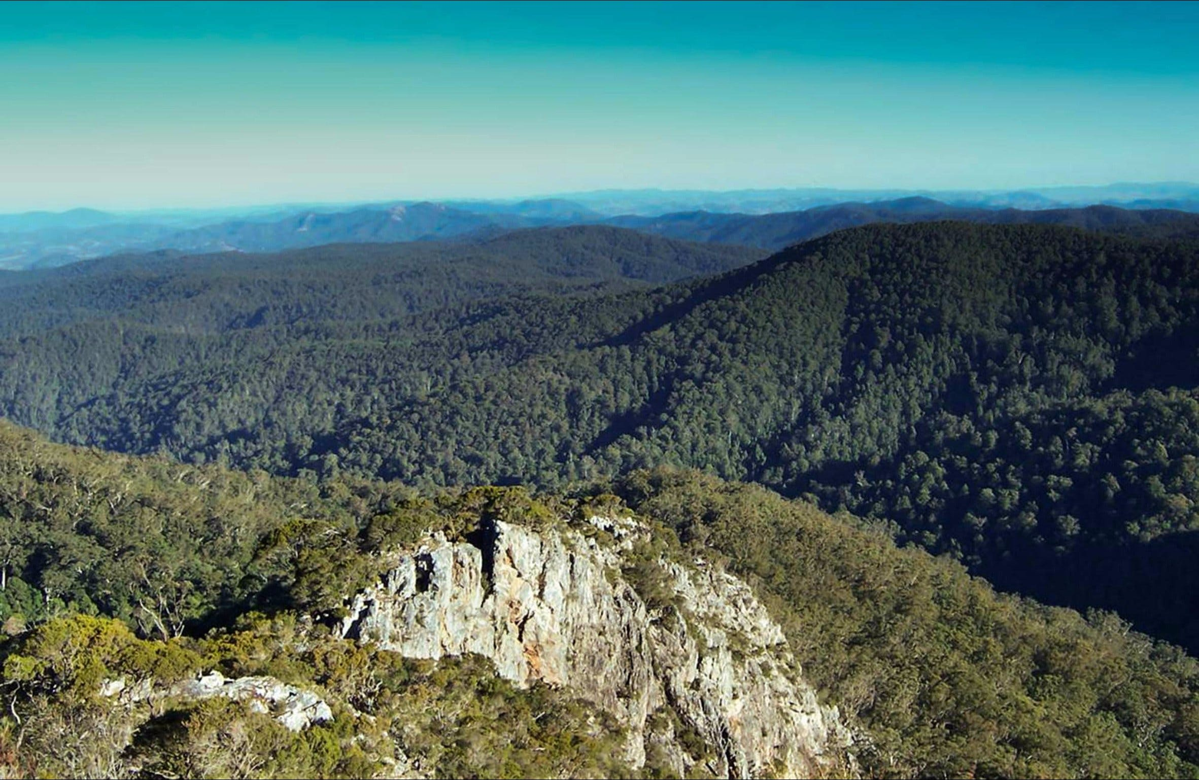 Rowleys Peak lookout - ACT Tourism