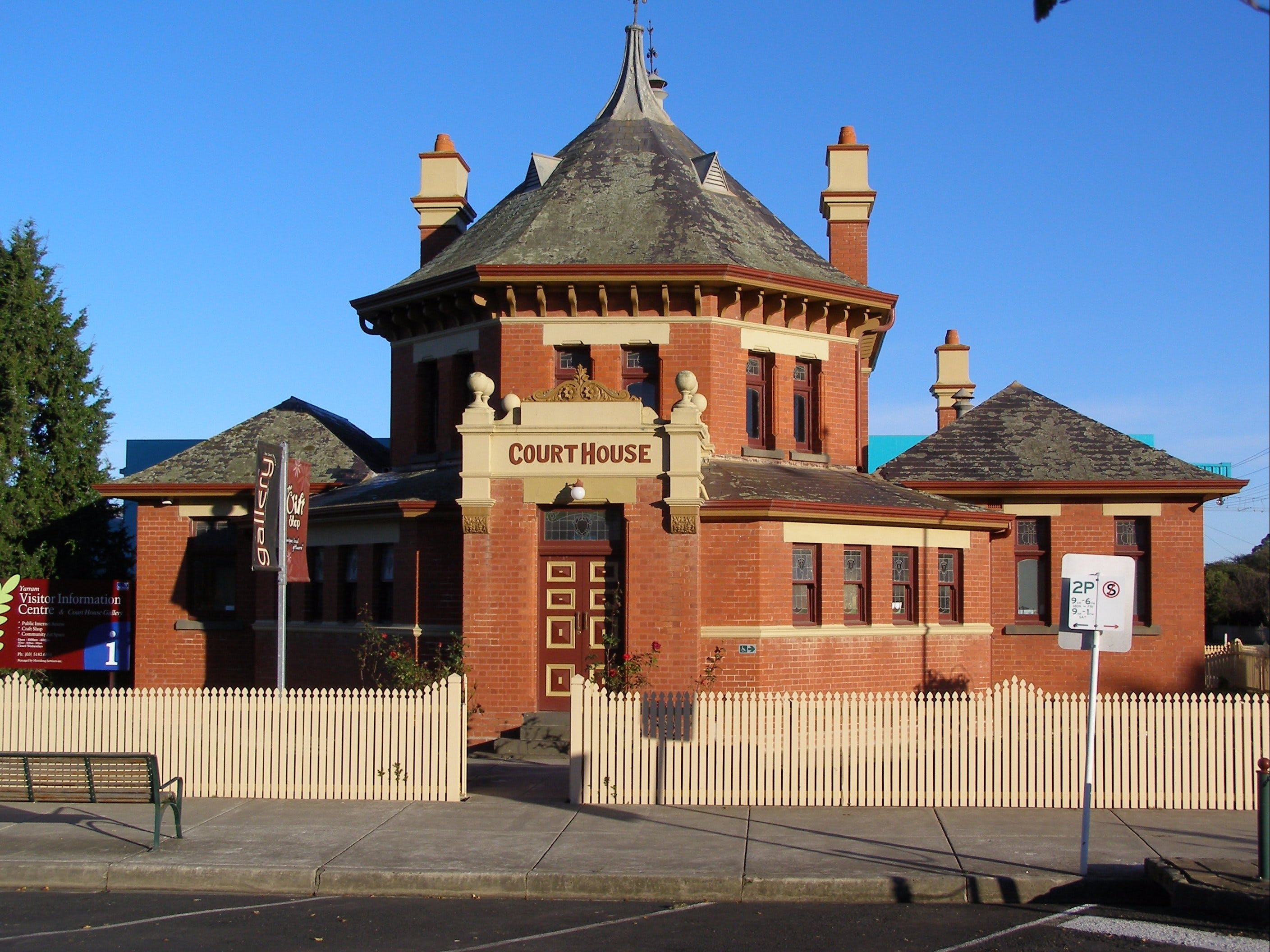 Yarram Courthouse Gallery - ACT Tourism