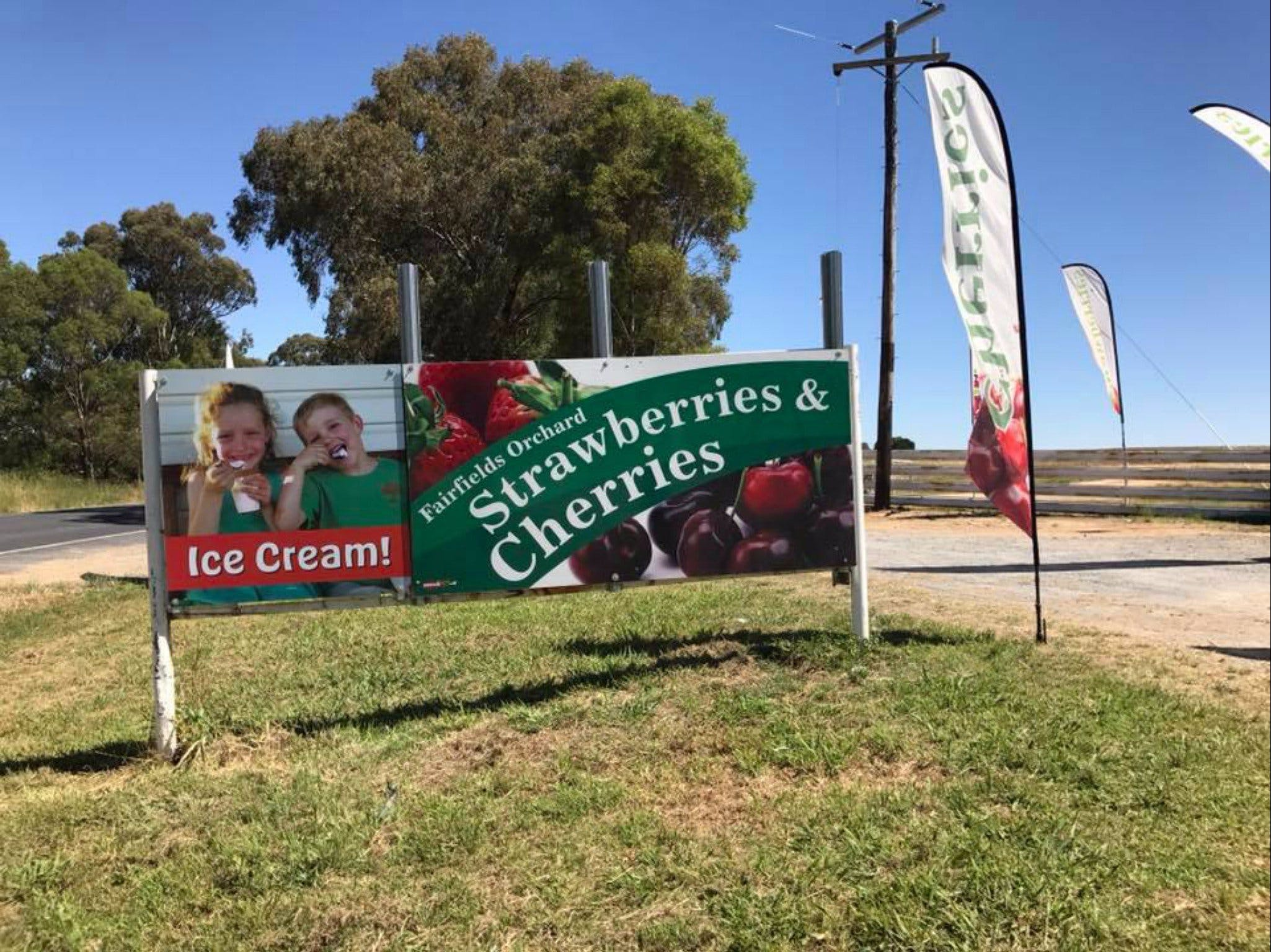 Fairfield Orchard - ACT Tourism