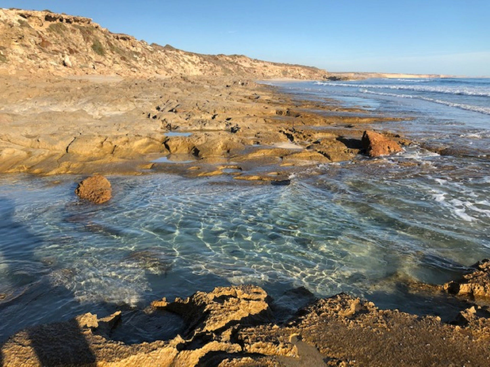 Streaky Bay - Back Beach - ACT Tourism
