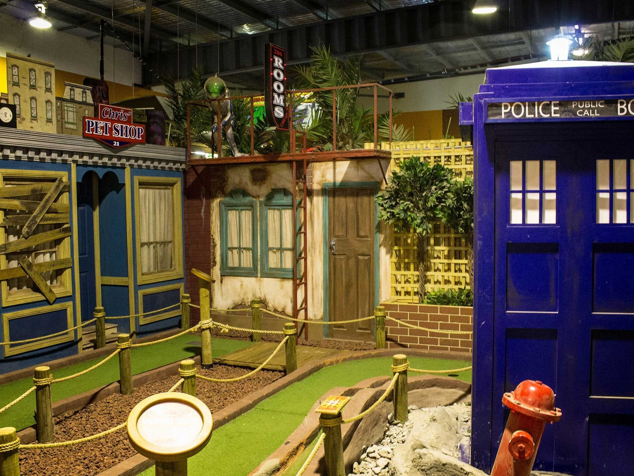 Unreal Mini Golf - ACT Tourism