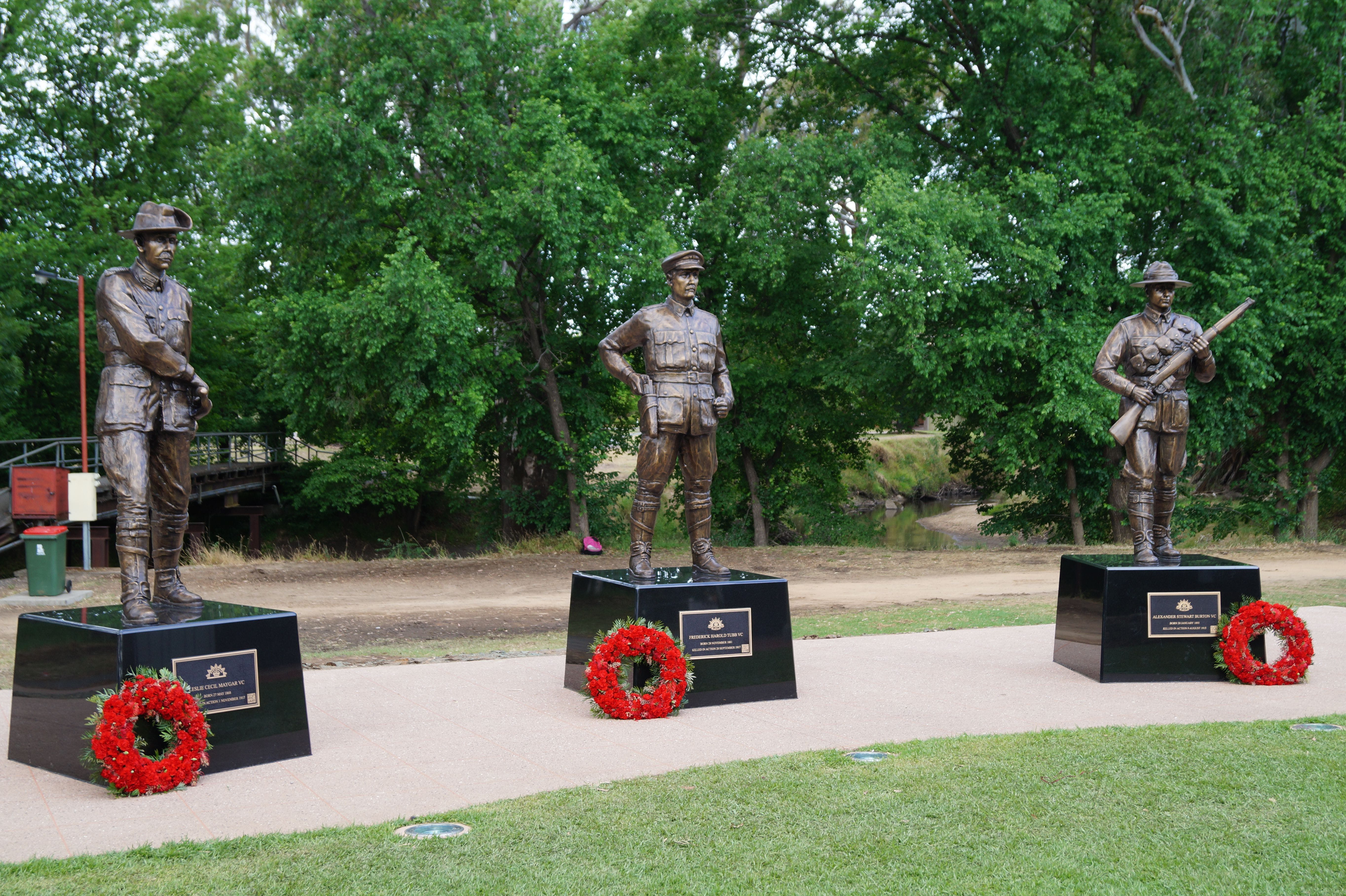 VC Memorial Park - Honouring Our Heroes - ACT Tourism