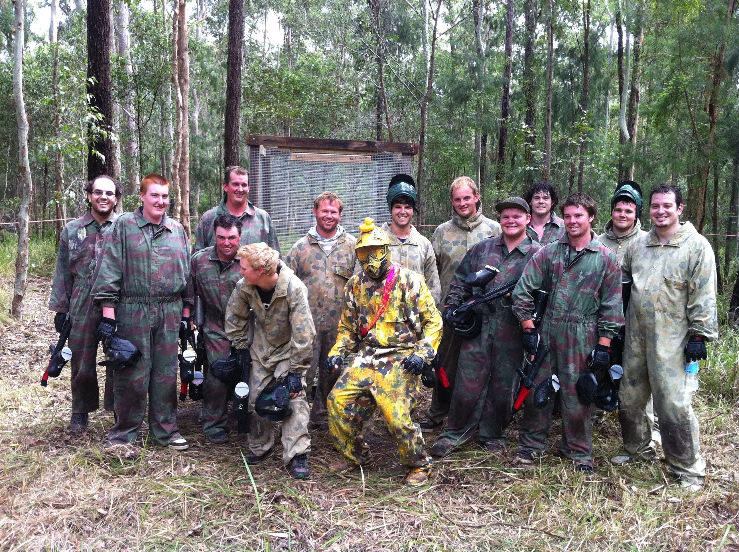 Mid North Coast Paintball - ACT Tourism