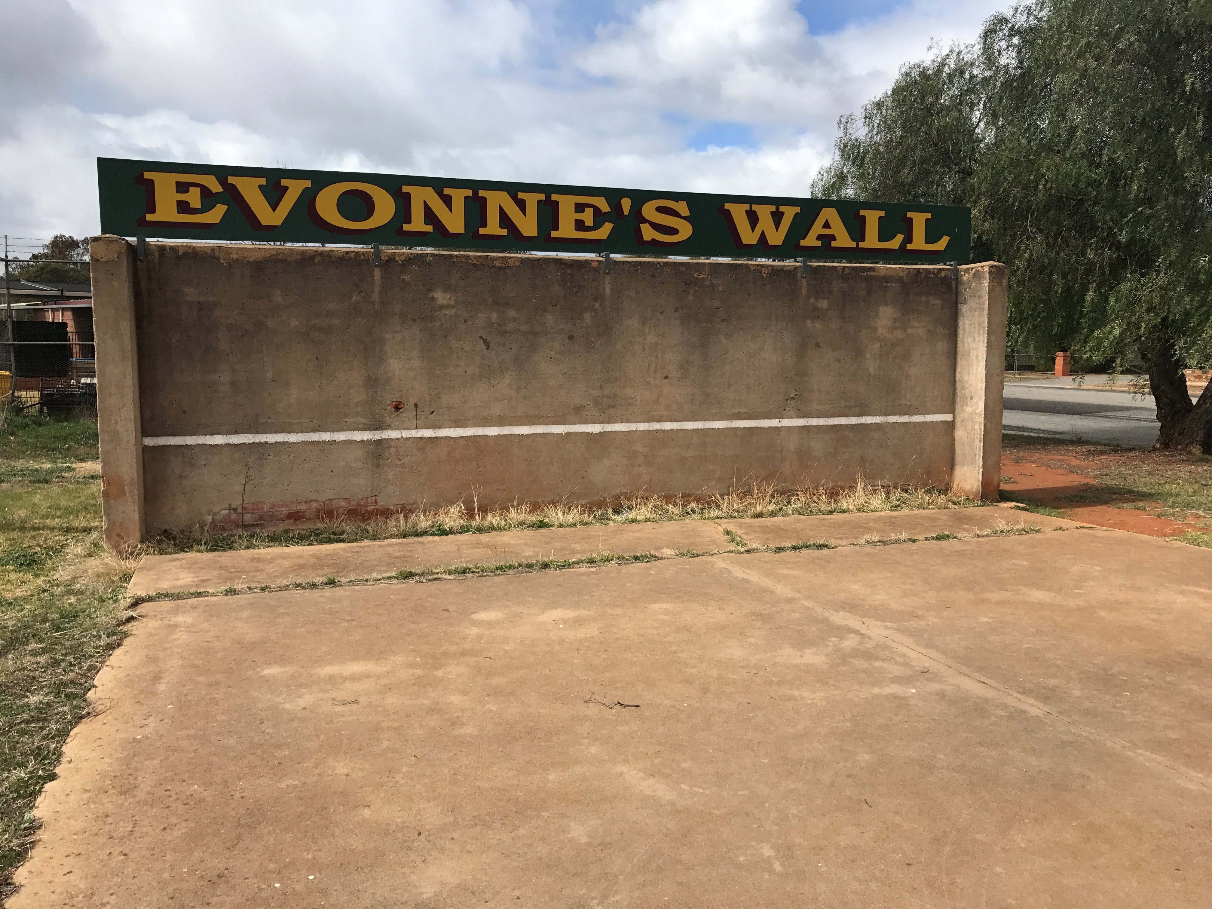 Evonne Goolagong-Cawley Wall - ACT Tourism