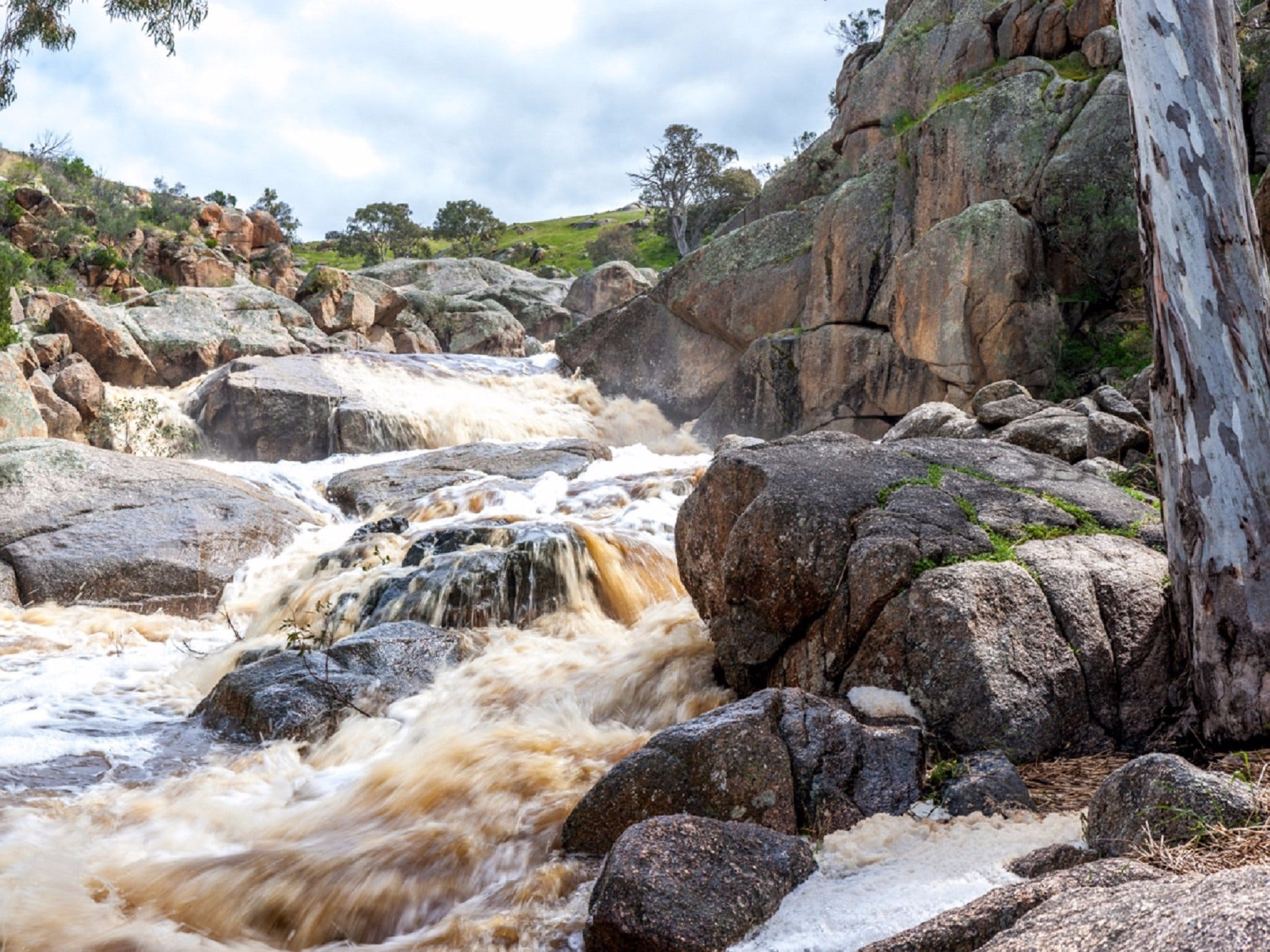 Mannum Waterfalls - ACT Tourism