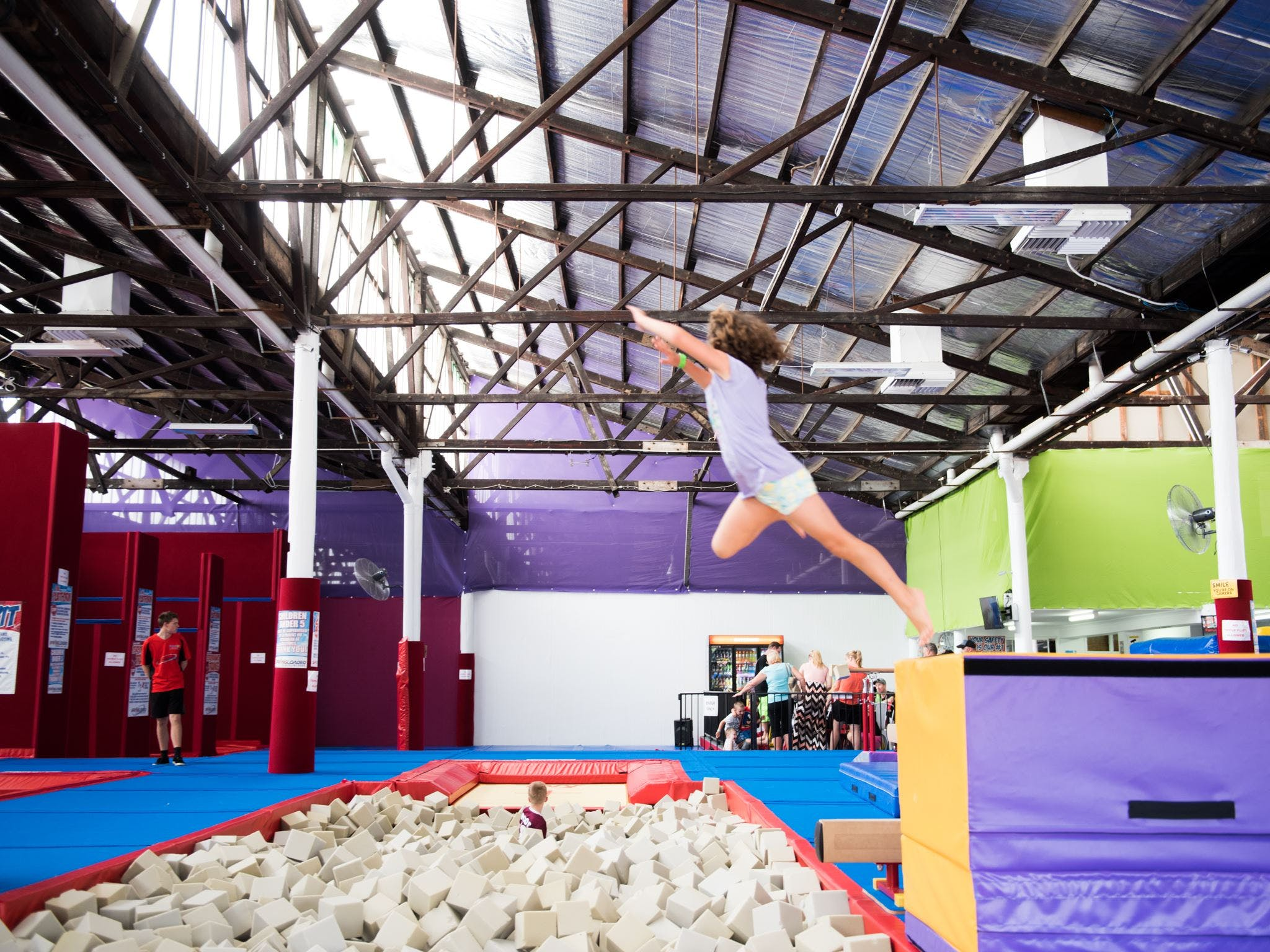 Springloaded Trampoline - ACT Tourism