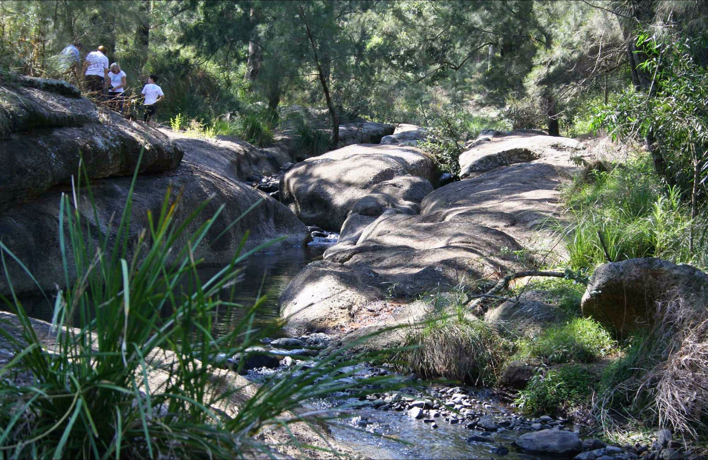 Washpools waterhole - ACT Tourism