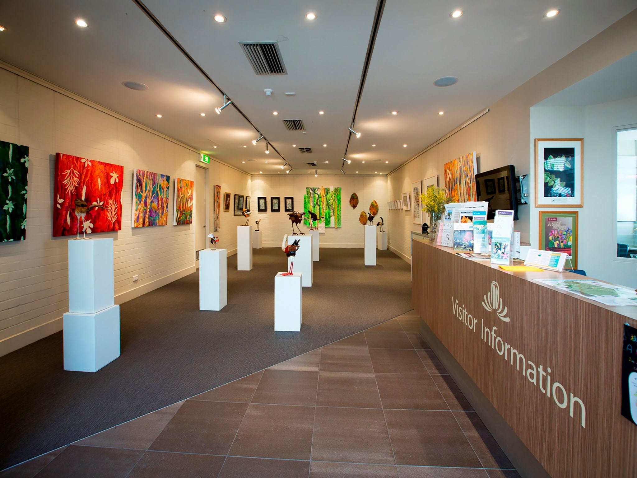 Australian National Botanic Gardens Visitor Centre Gallery - ACT Tourism