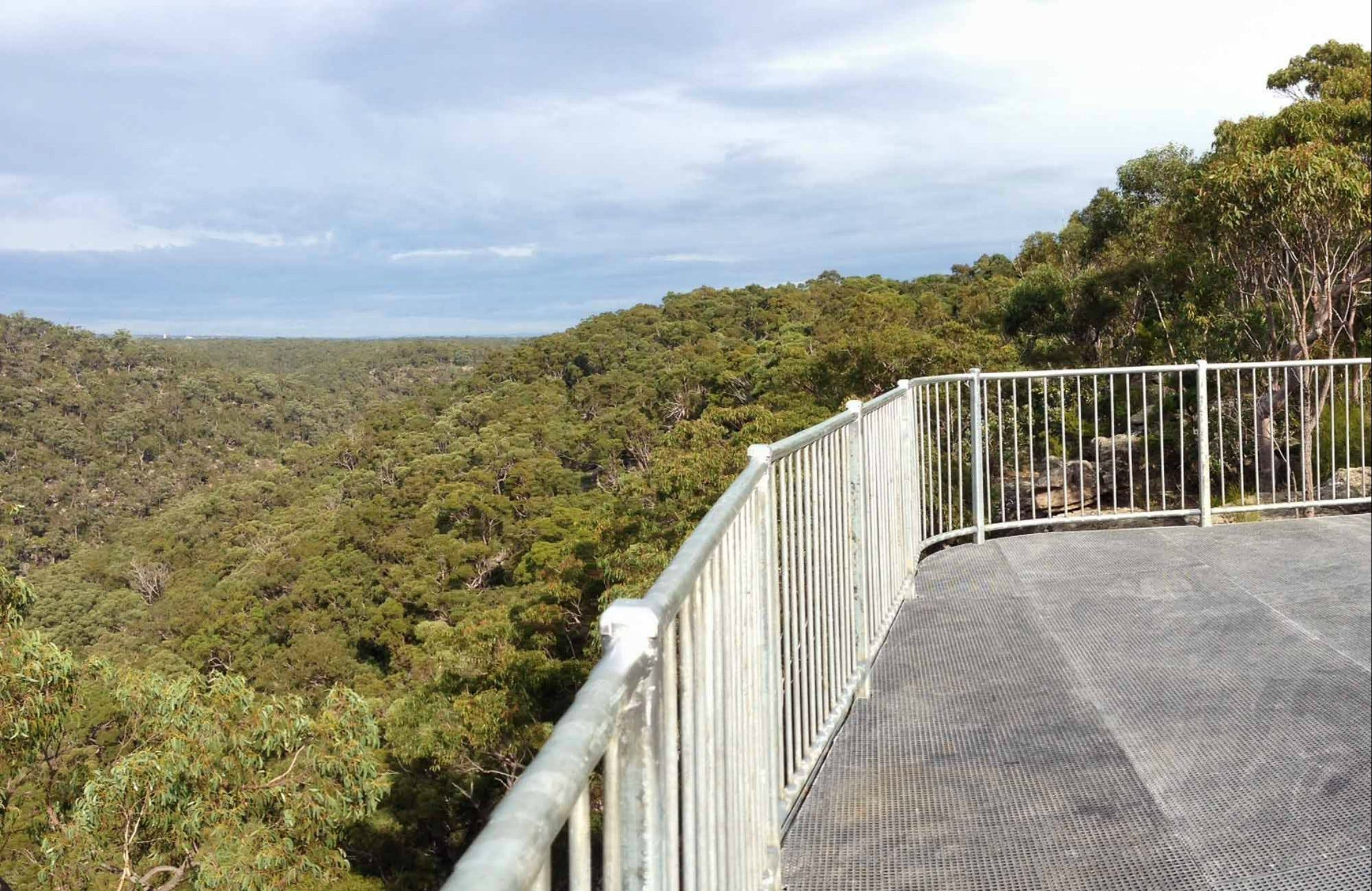 O'Hares Creek Lookout - ACT Tourism