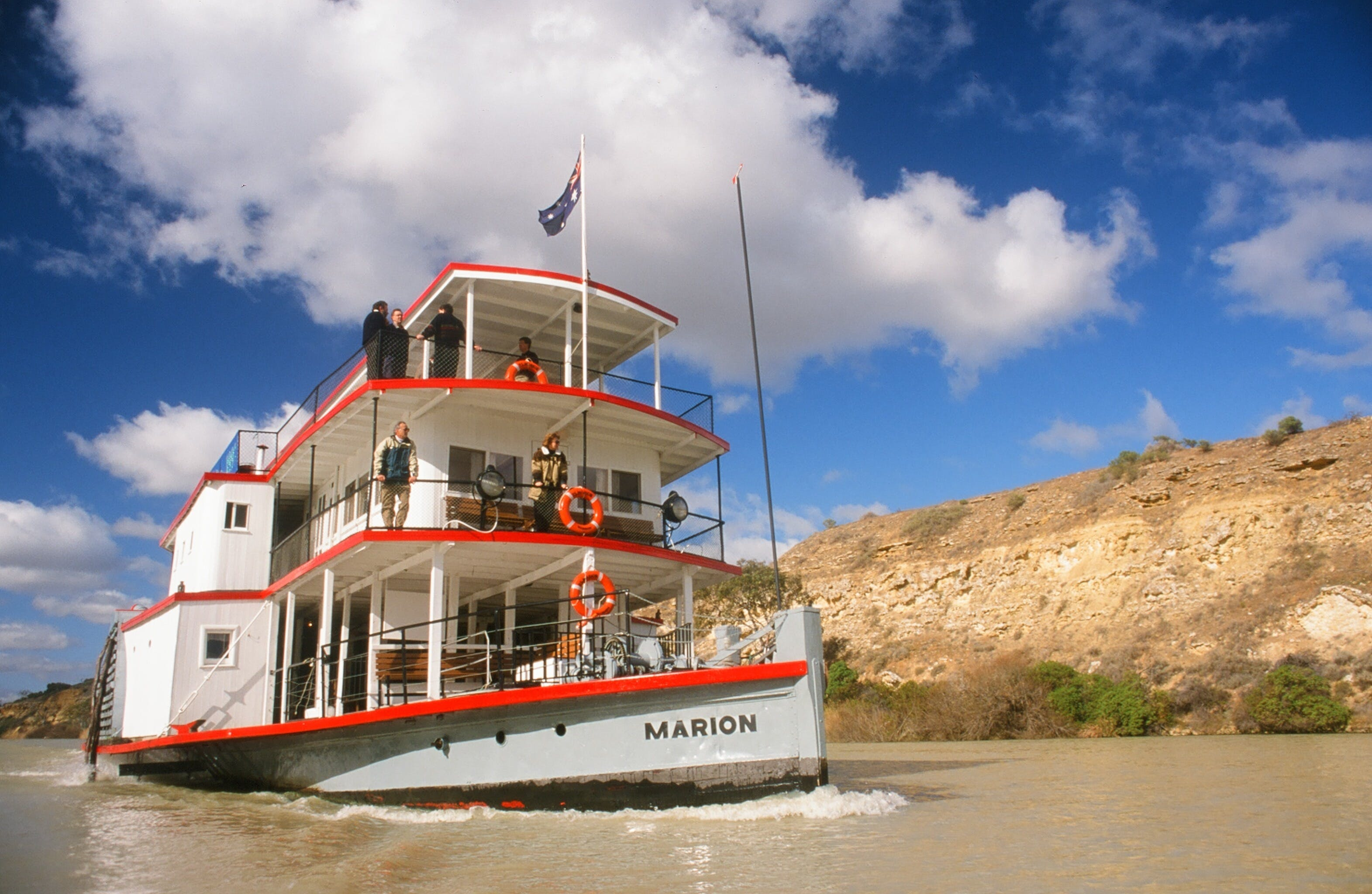 PS Marion Short Cruises - all cruises cancelled until further notice - ACT Tourism