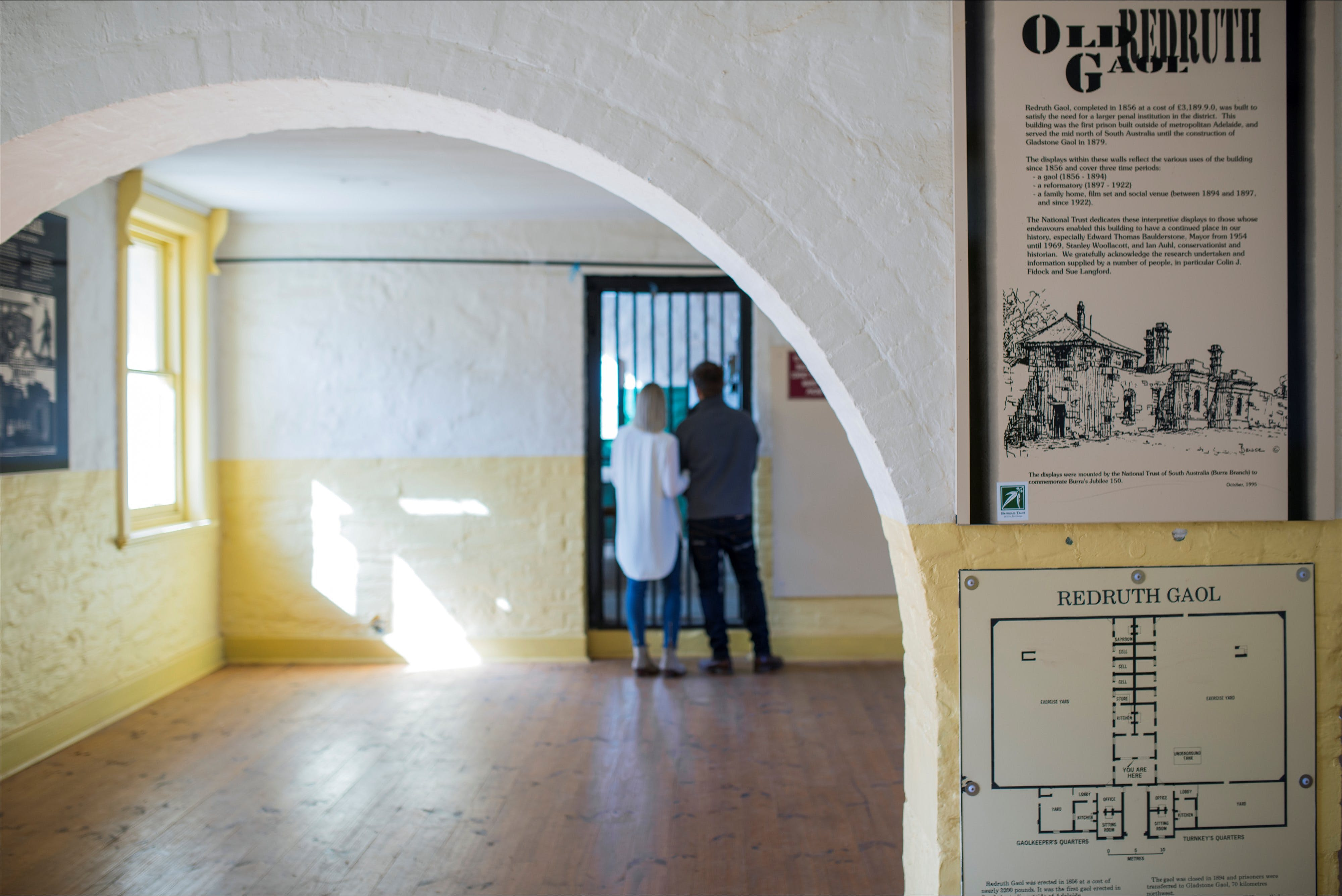 Redruth Gaol - ACT Tourism