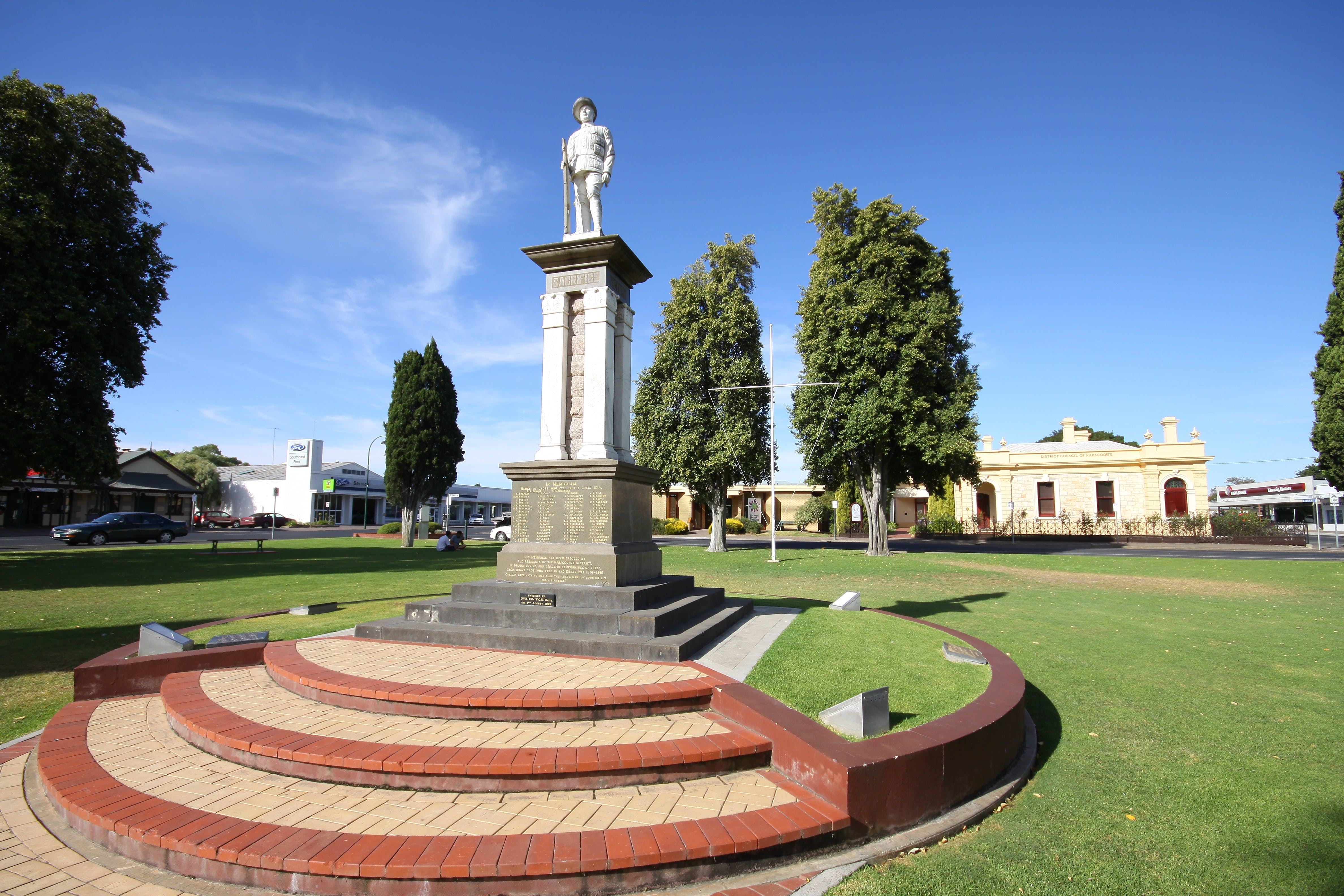 Naracoorte Town Square - ACT Tourism