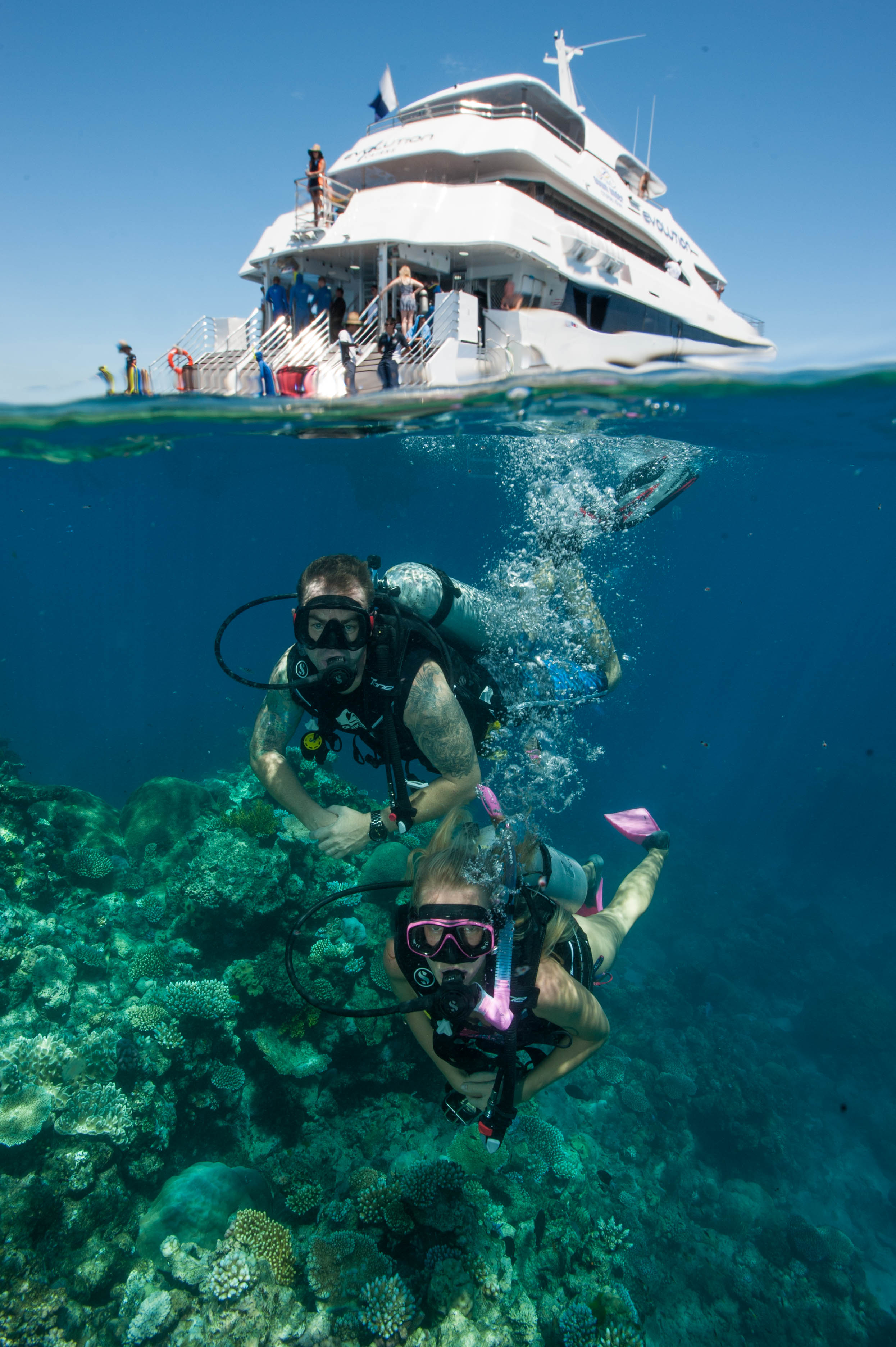 Down Under Cruise and Dive - ACT Tourism