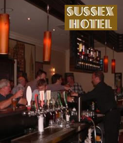 Sussex Hotel - ACT Tourism