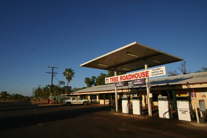 Ti Tree Roadhouse - ACT Tourism