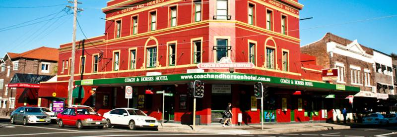 The Coach  Horses Hotel - ACT Tourism
