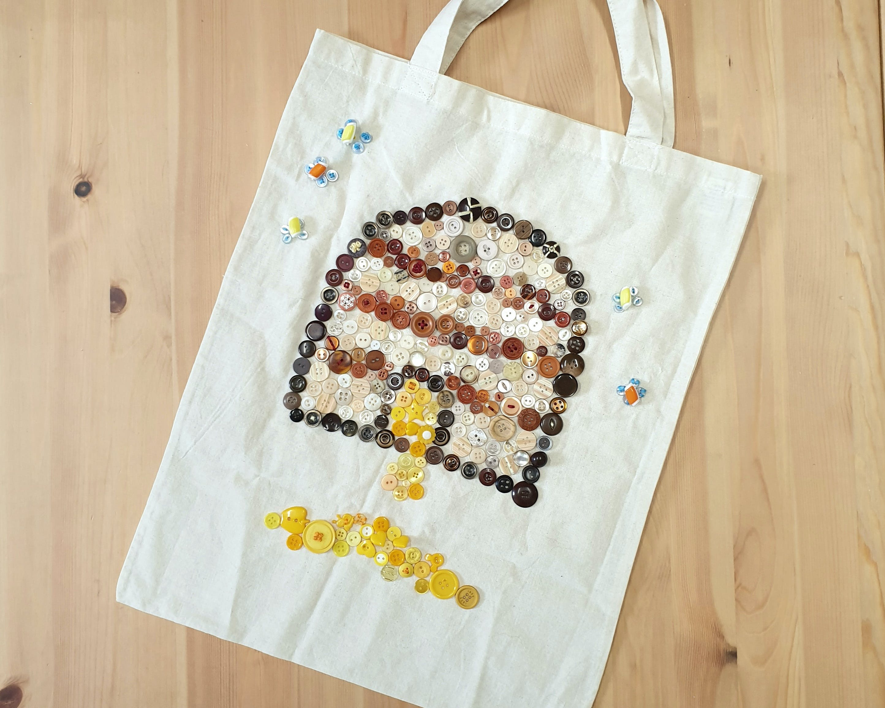 Create a Button Tote - ACT Tourism