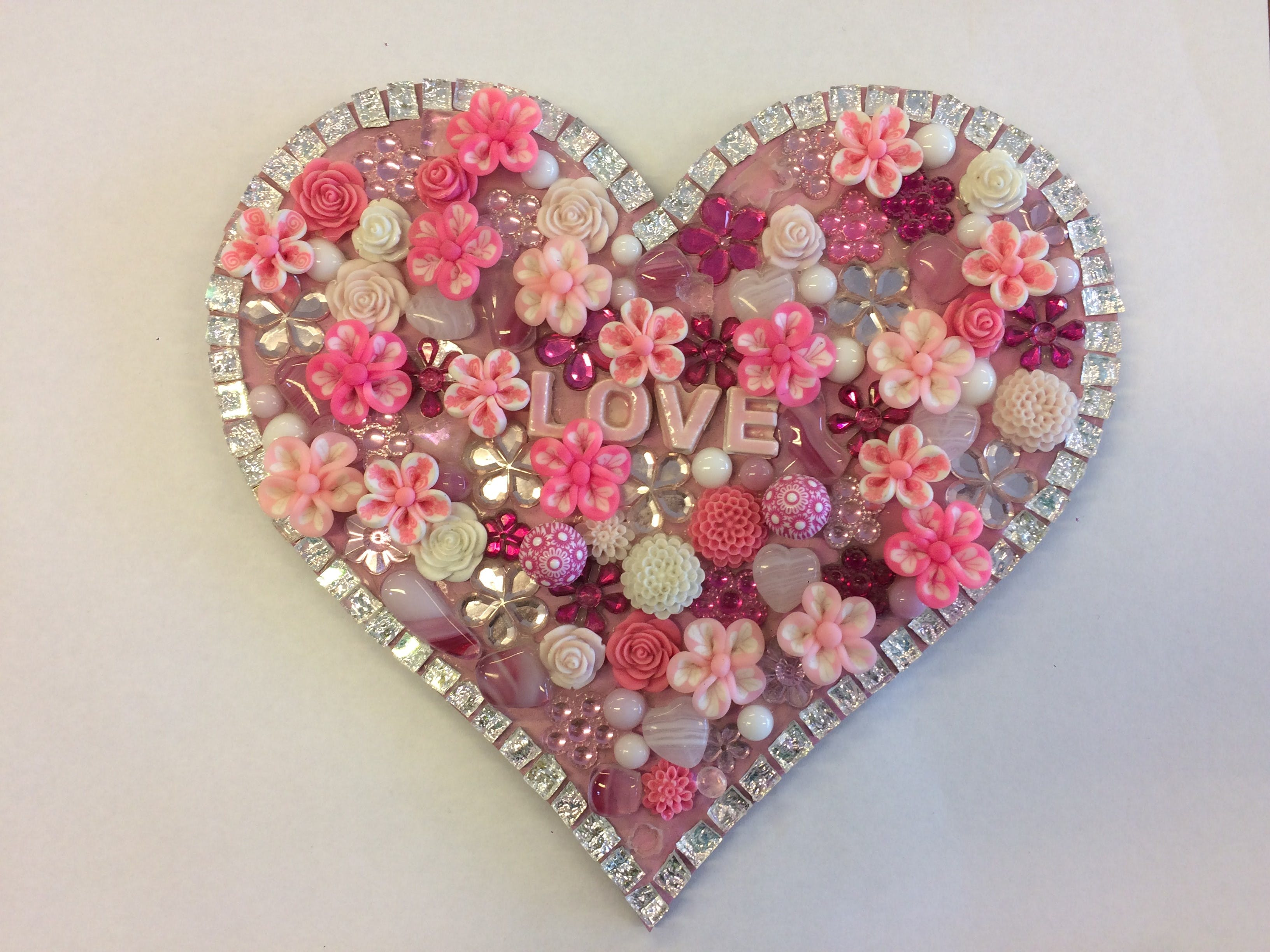 Flowers and Bling Mosaic Class for Kids - ACT Tourism