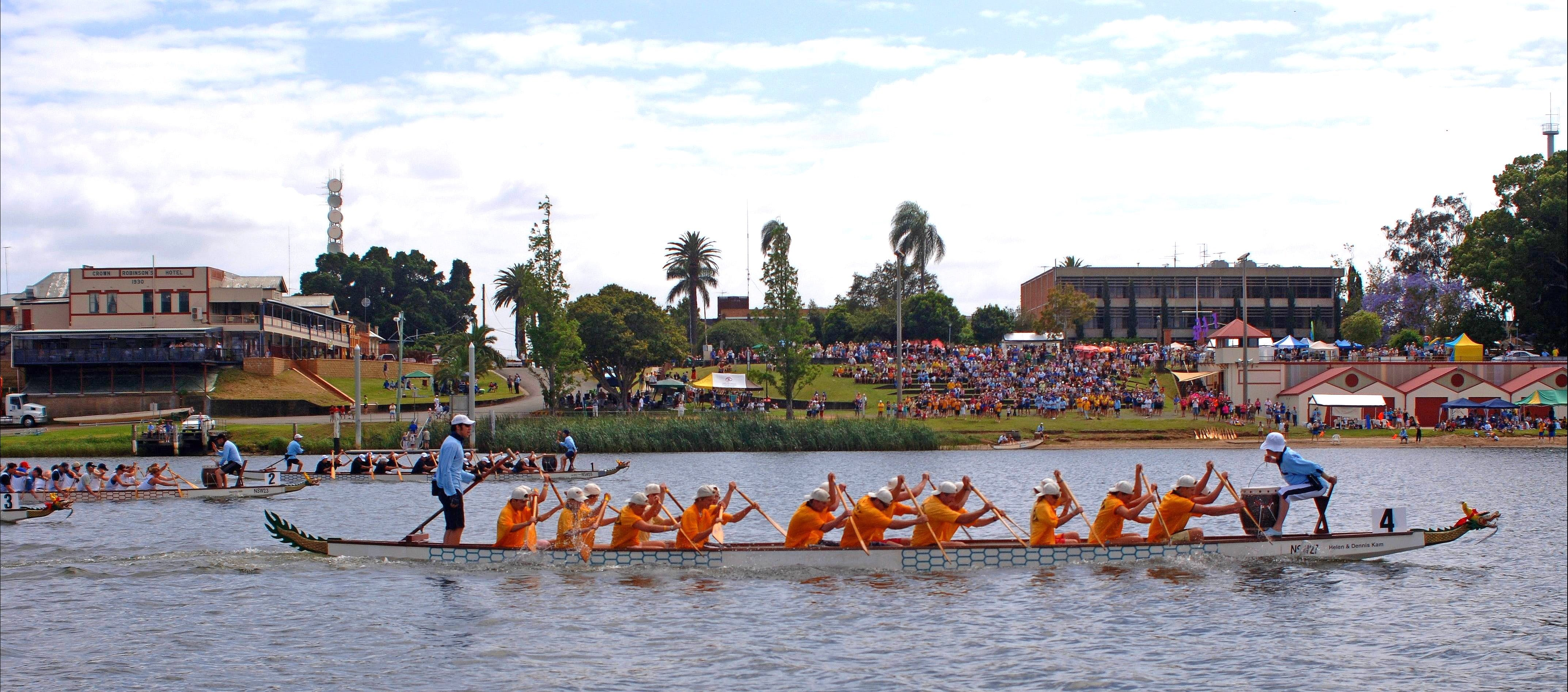 Jacaranda Dragon Boat Races - ACT Tourism