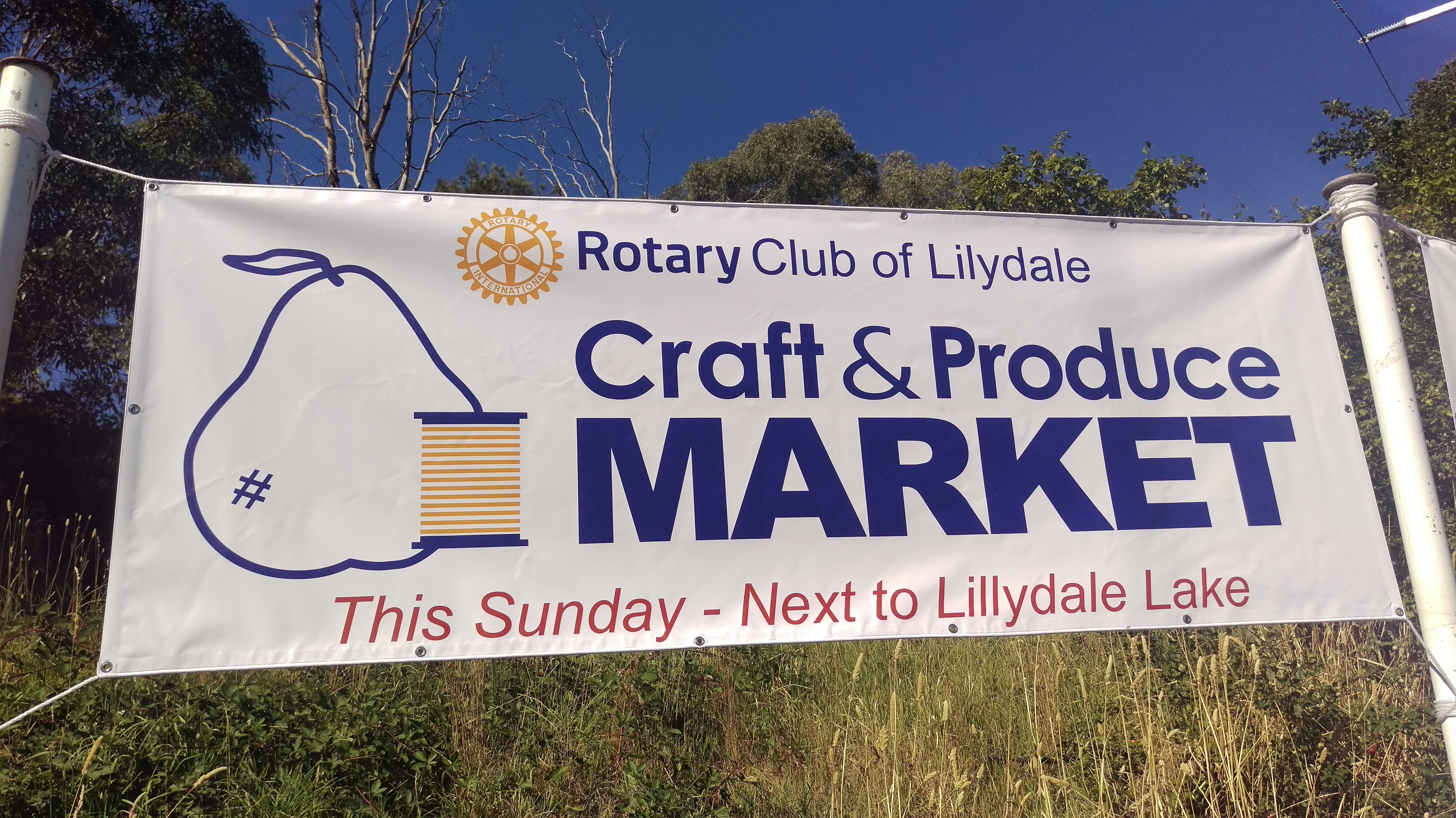 Rotary Club of Lilydale Craft and Produce Market - ACT Tourism