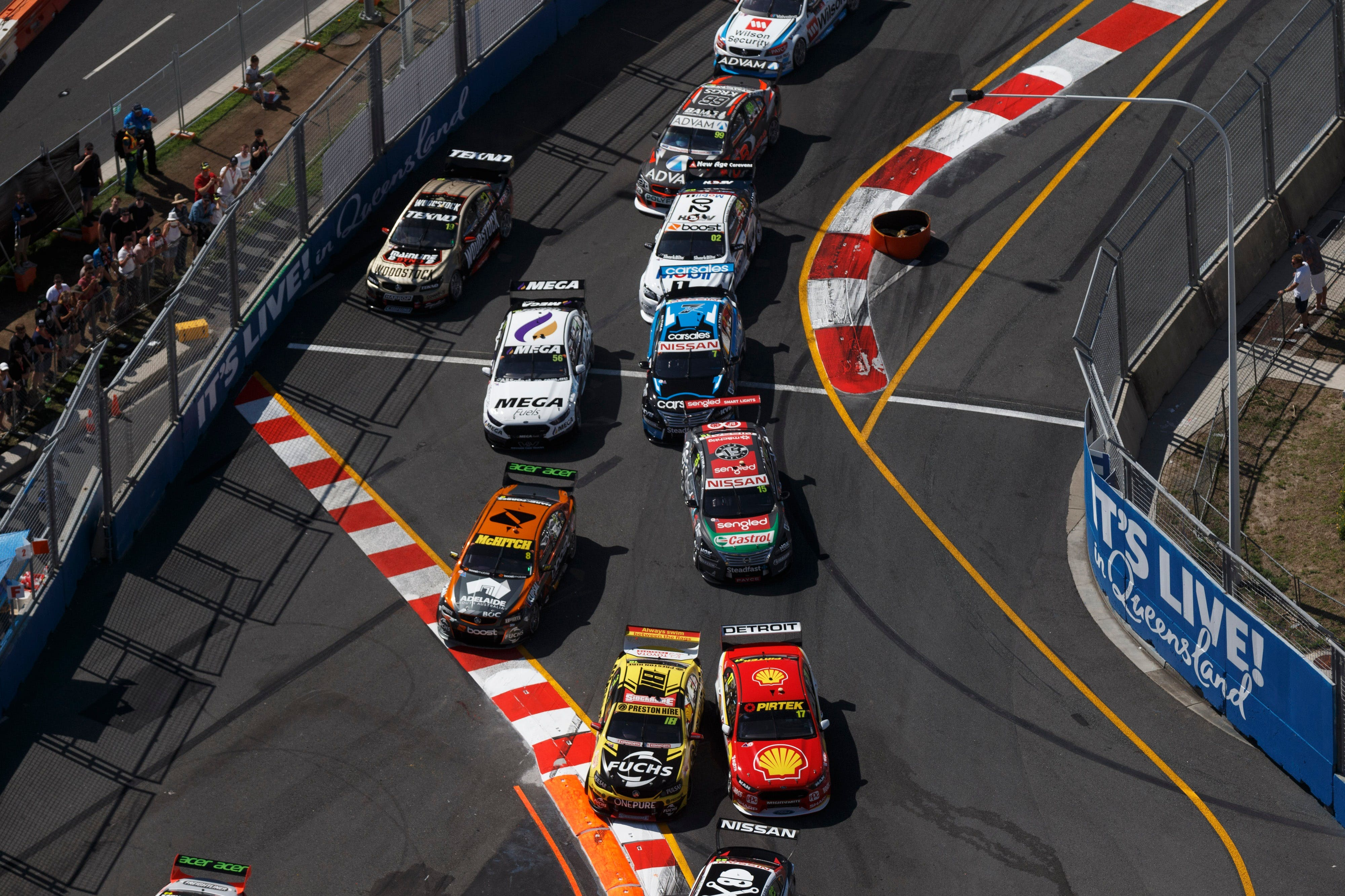 Supercars Vodafone Gold Coast 600 - ACT Tourism