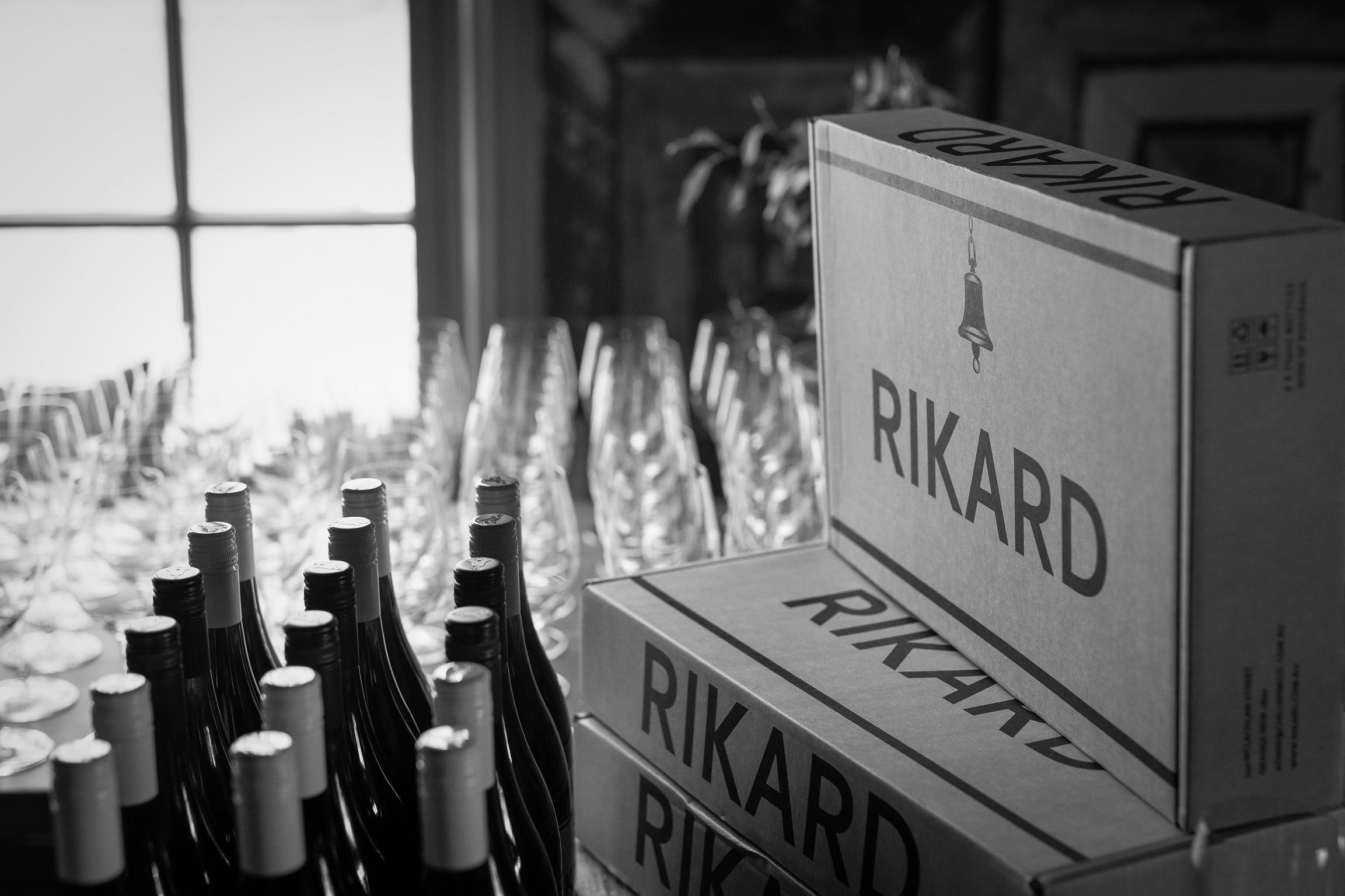 Vin Vertical - Five Years of RIKARD Pinot Noir - ACT Tourism