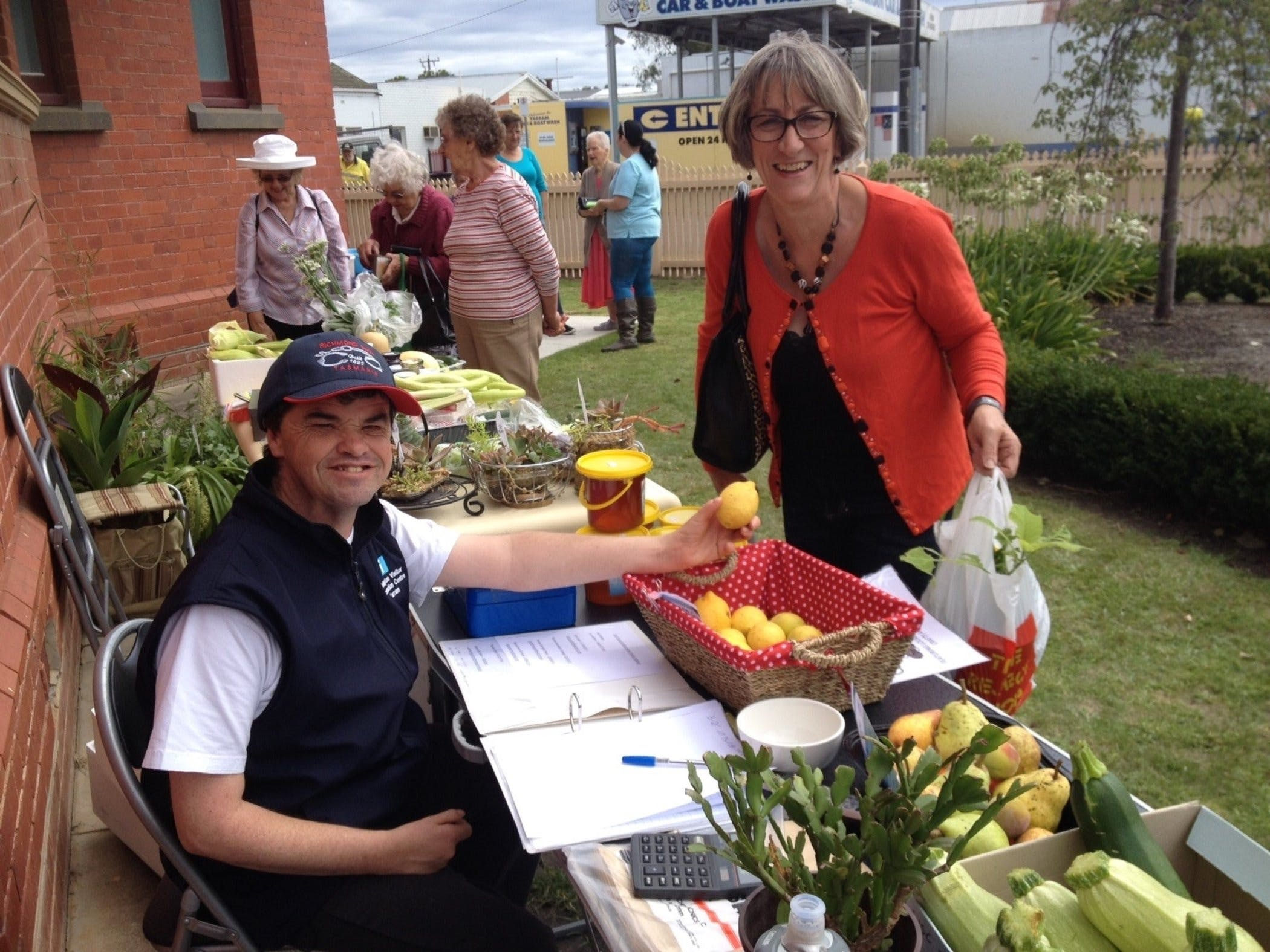 Yarram Courthouse Garden Produce Market - ACT Tourism