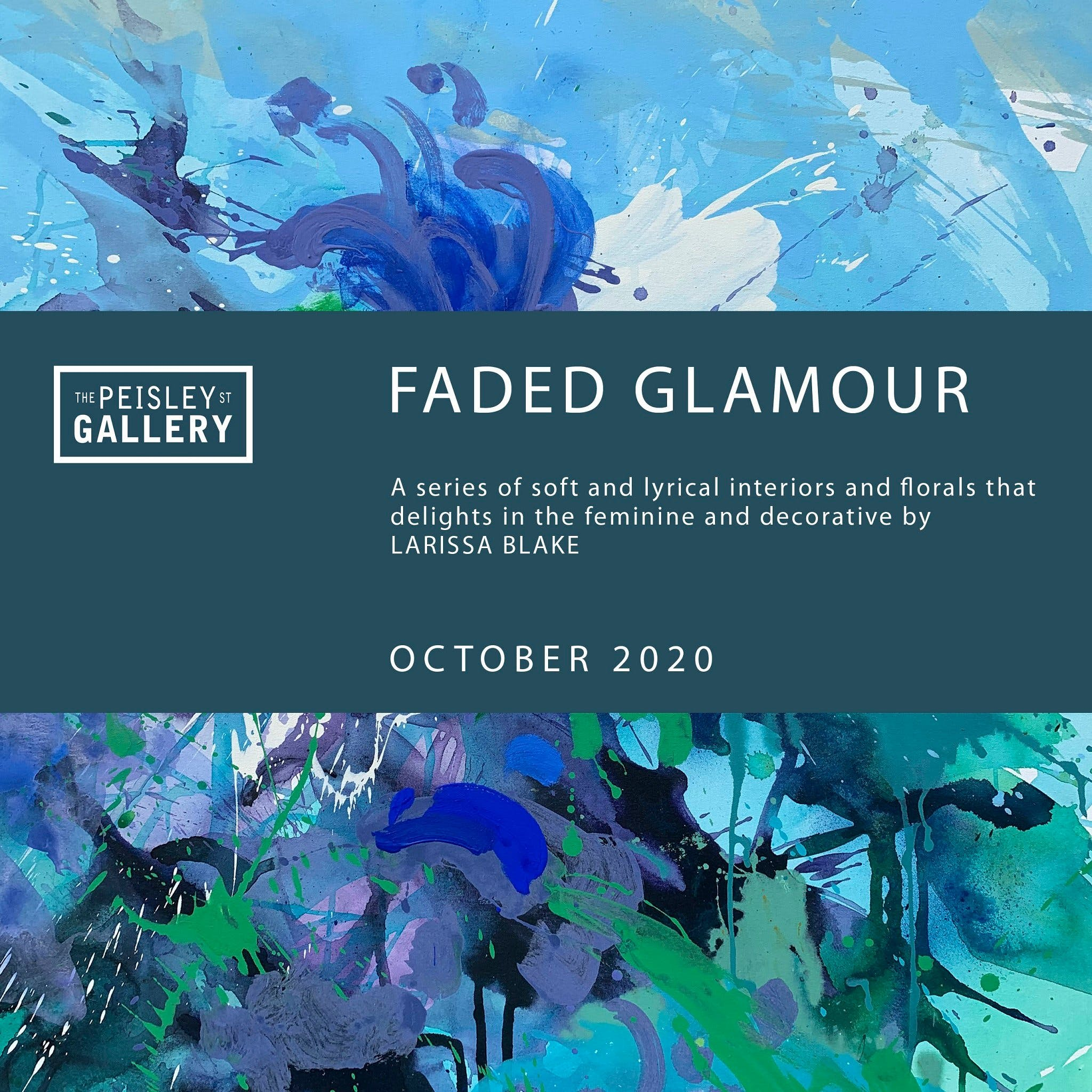 Faded Glamour - paintings by Larissa Blake - ACT Tourism