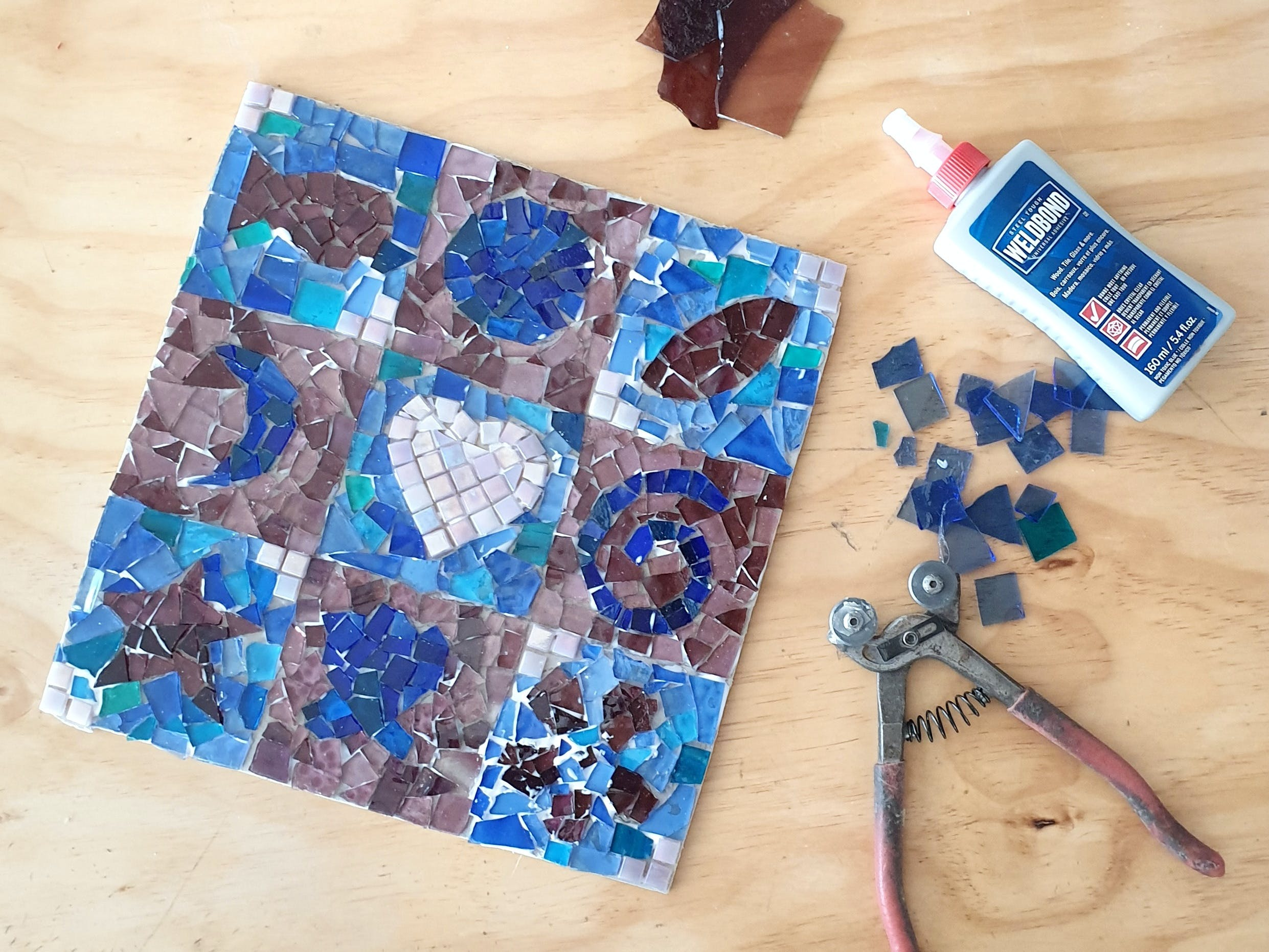 Intro to Mosaics Weekend with Leadlight By Ettore - ACT Tourism