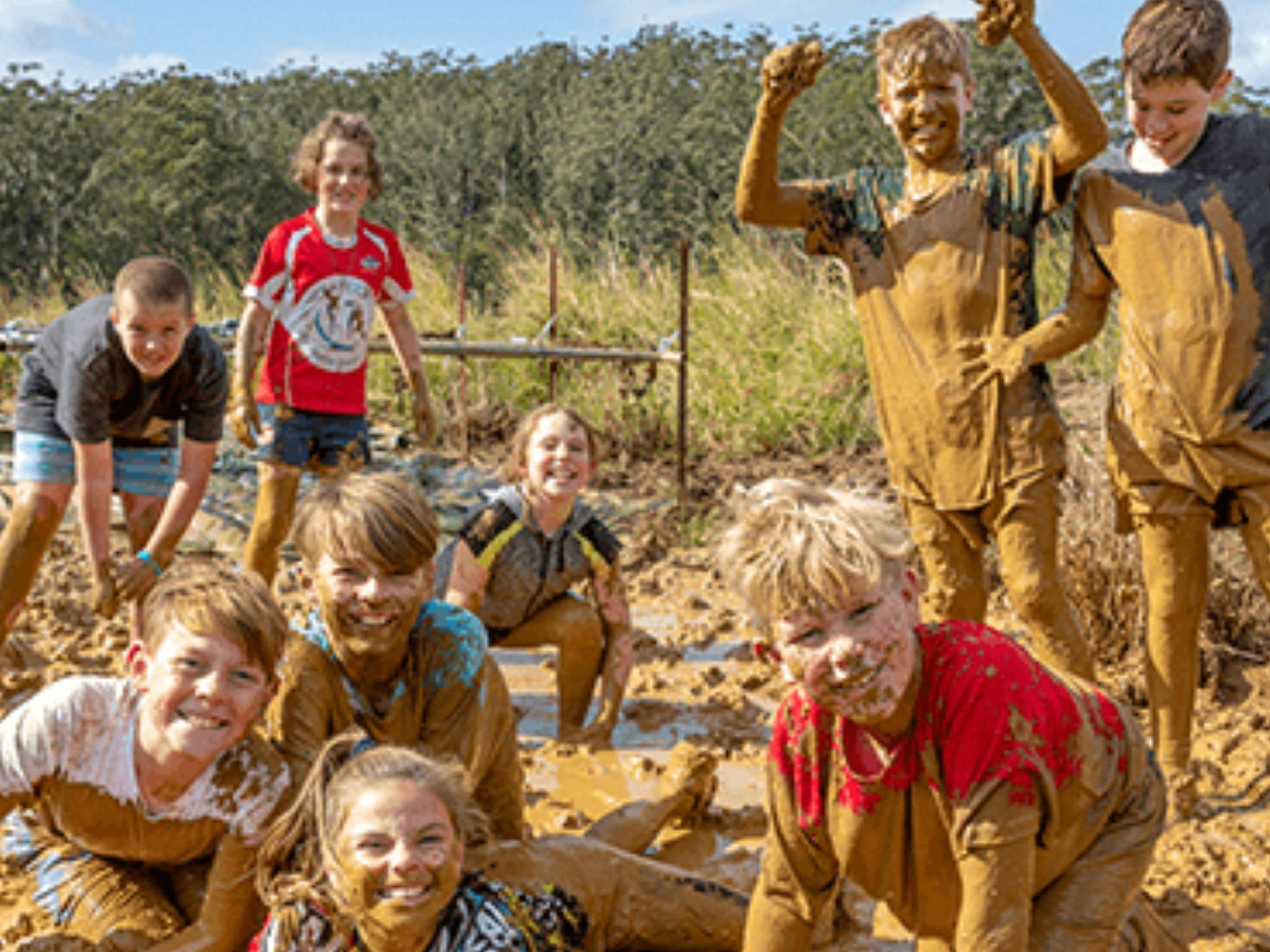 Mini Muddies Obstacle Challenge at Bunnamagoo Estate - ACT Tourism