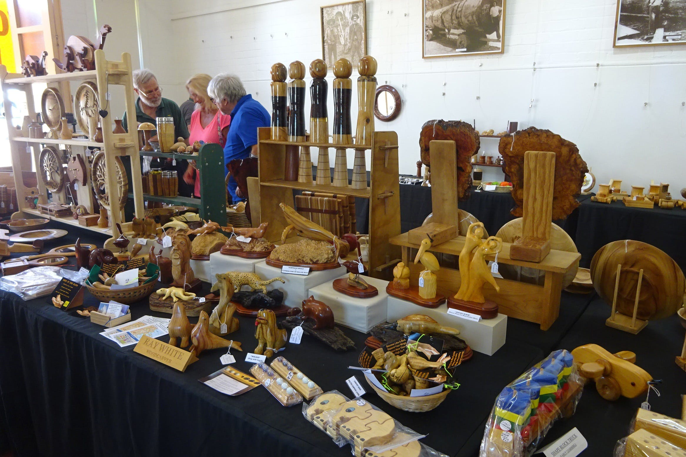 Kiama Woodcraft Group - Exhibition and Sales - ACT Tourism