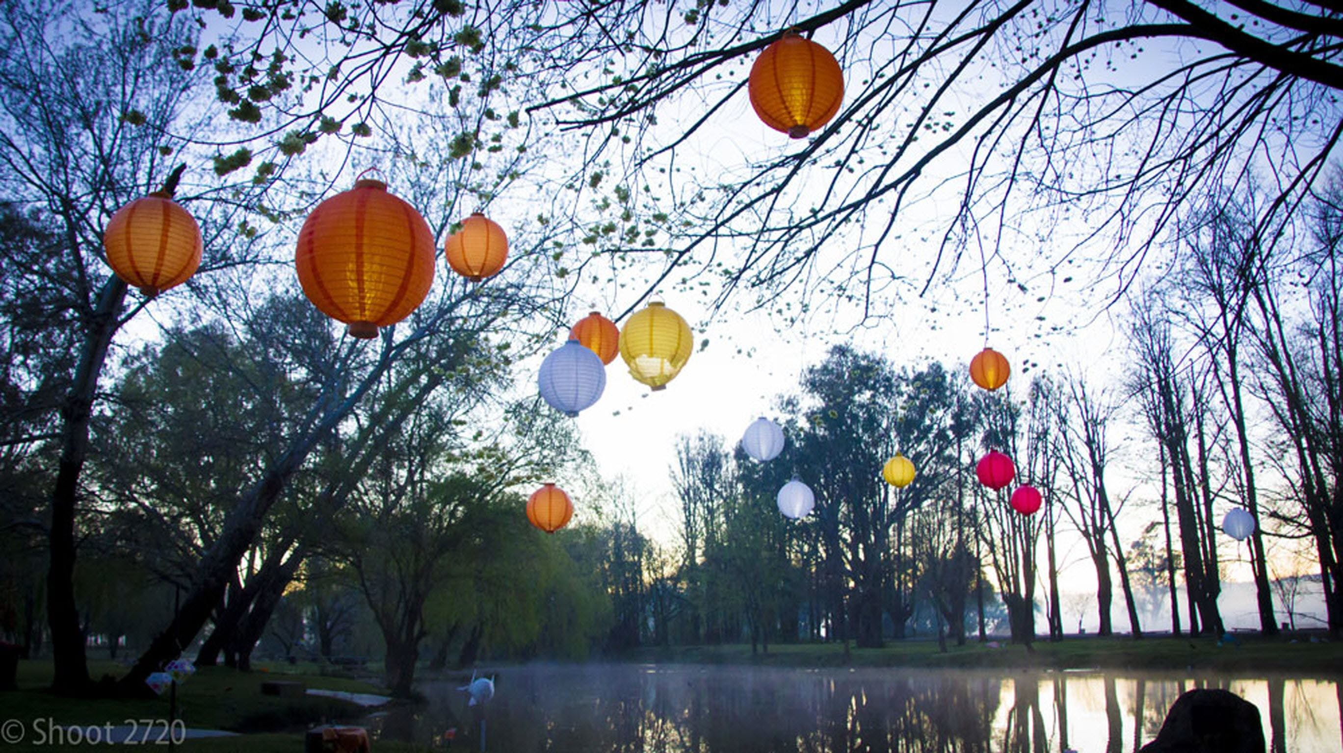 Lanterns on the Lagoon - ACT Tourism