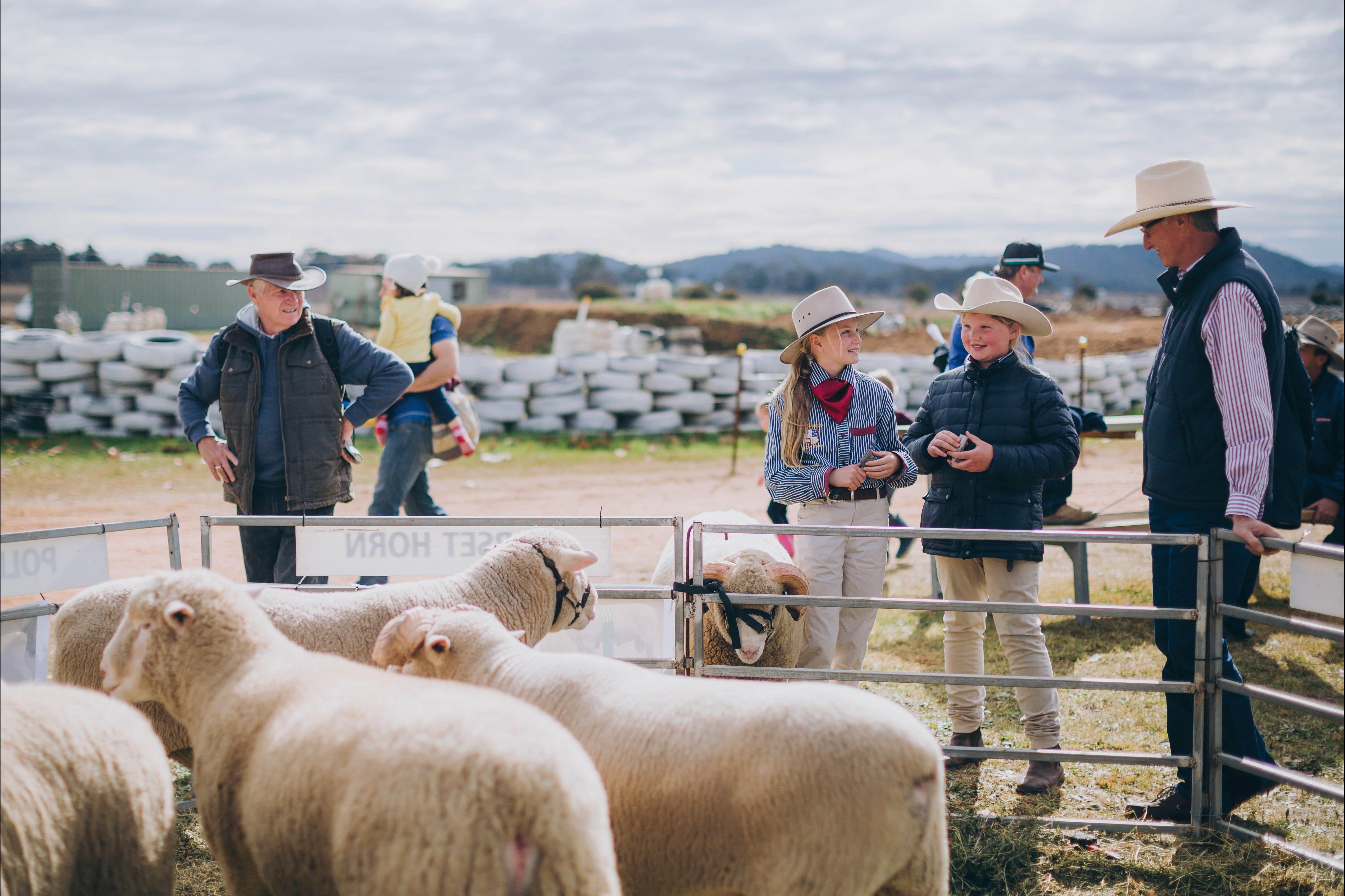 Mudgee Small Farm Field Days - ACT Tourism