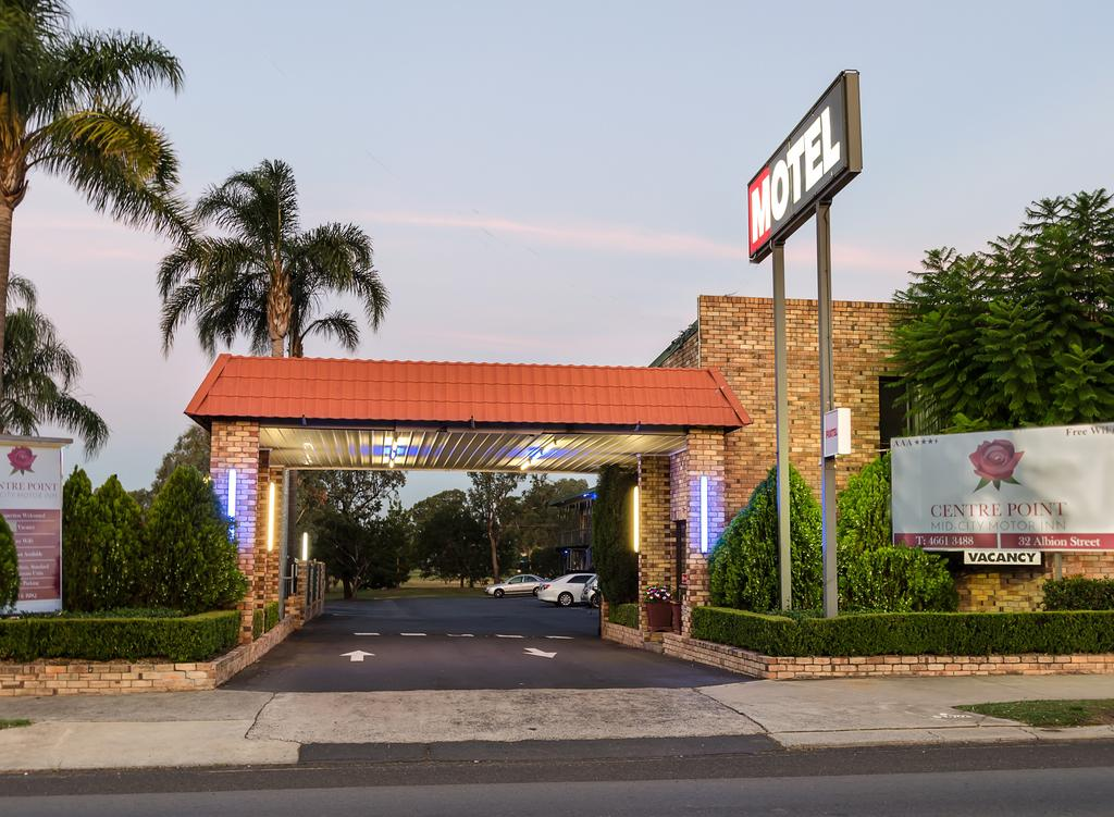 Centrepoint Midcity Motor Inn - ACT Tourism